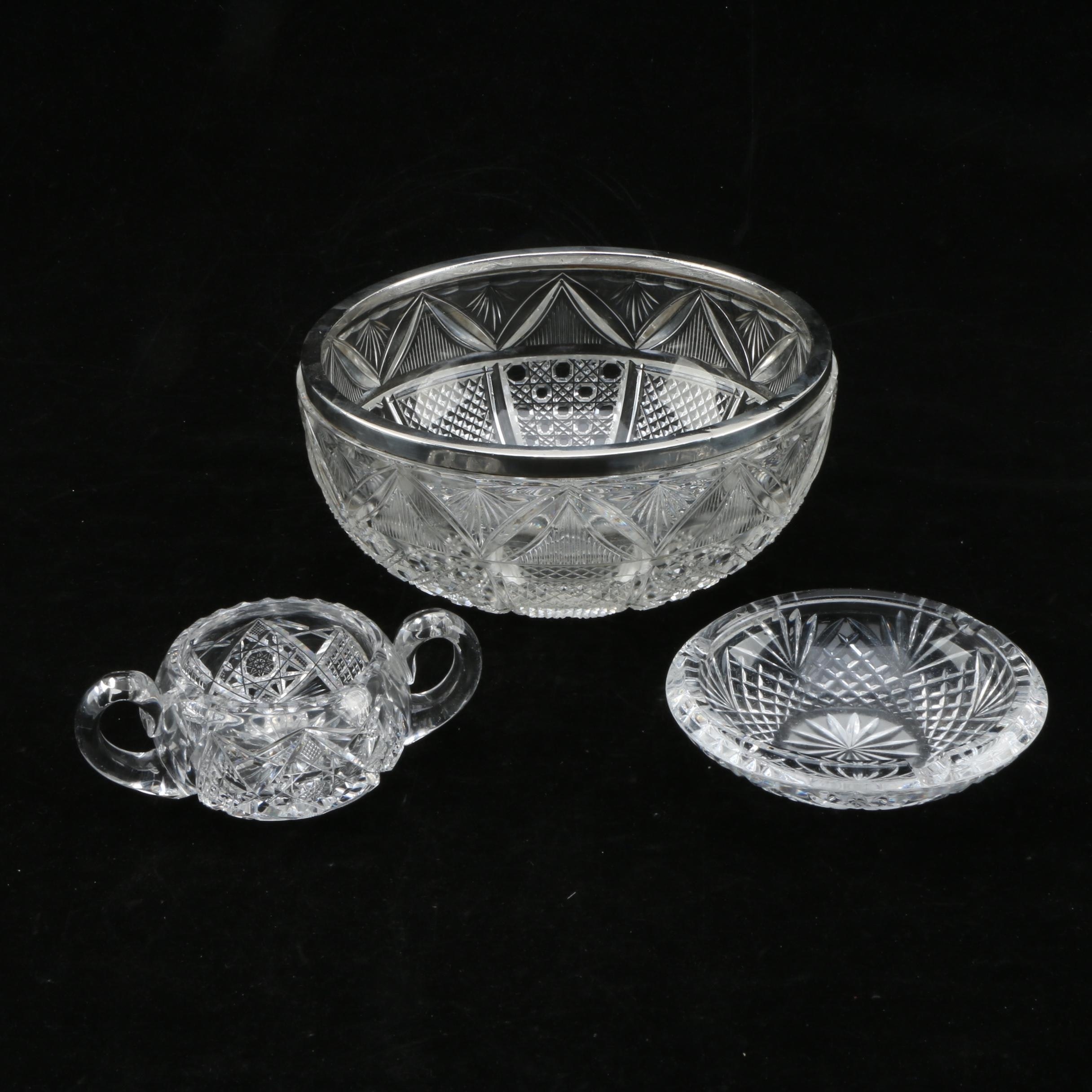 Selection of Crystal Bowls