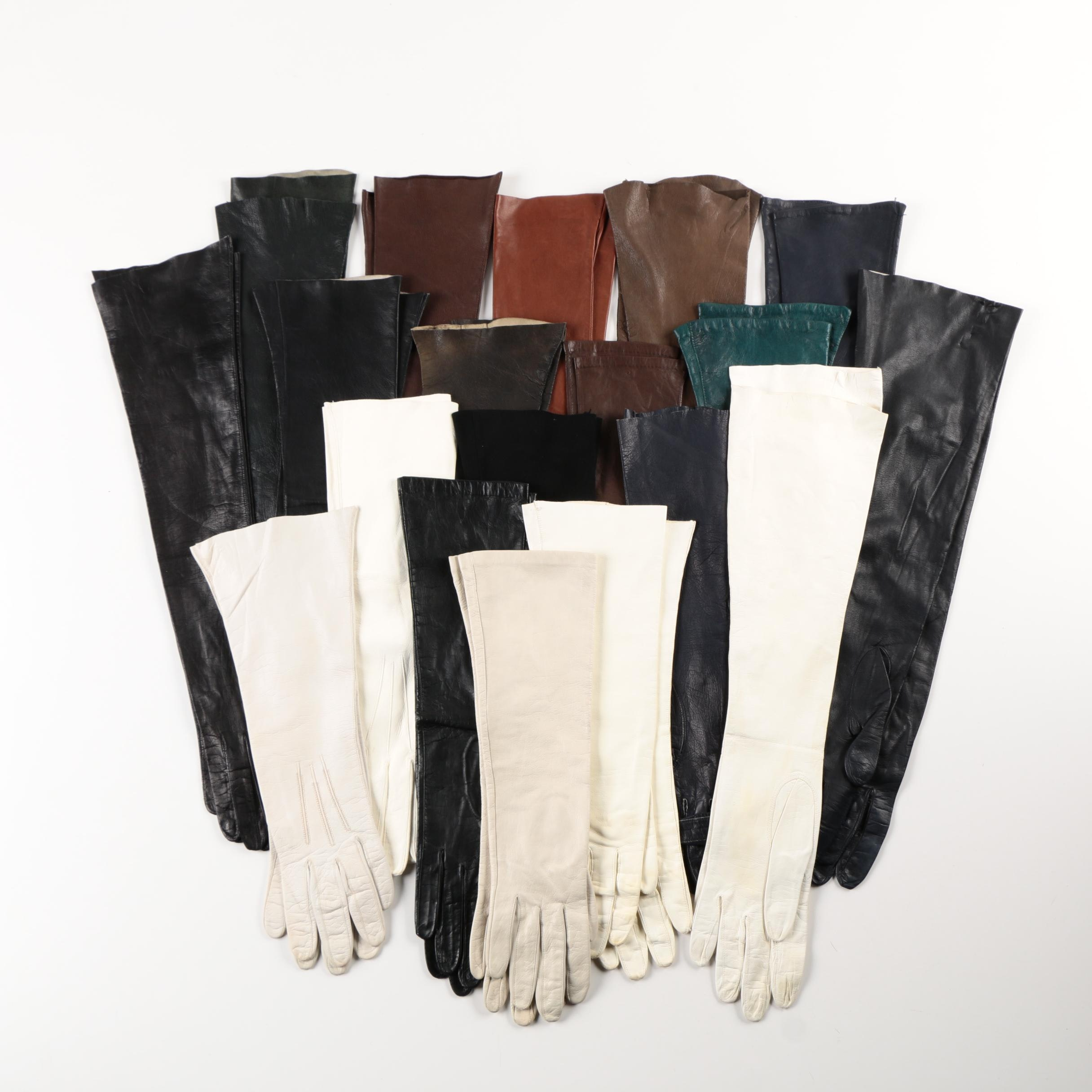 Assorted Women's Leather and Suede Gloves