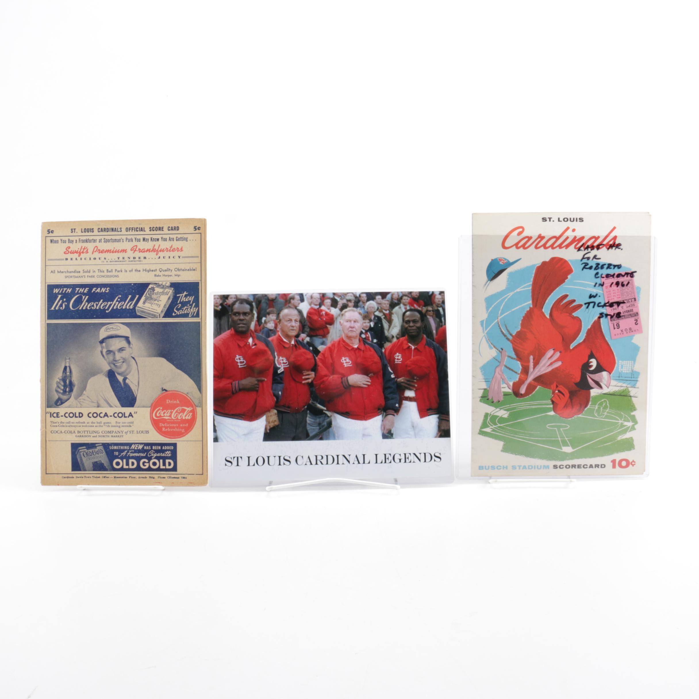 St. Louis Cardinals Baseball Souvenirs