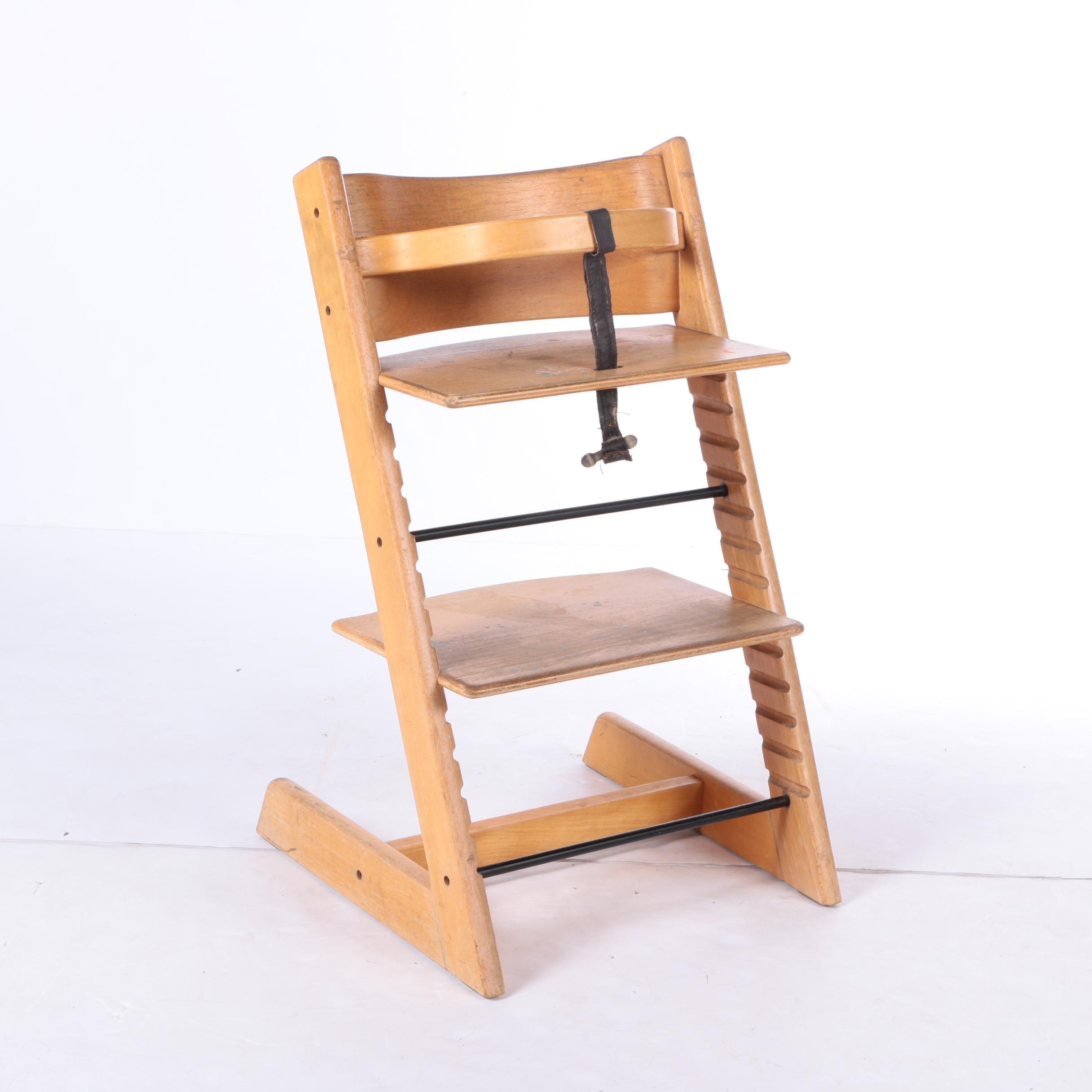 Vintage Stokke Tripp Trapp Baby Highchair ...
