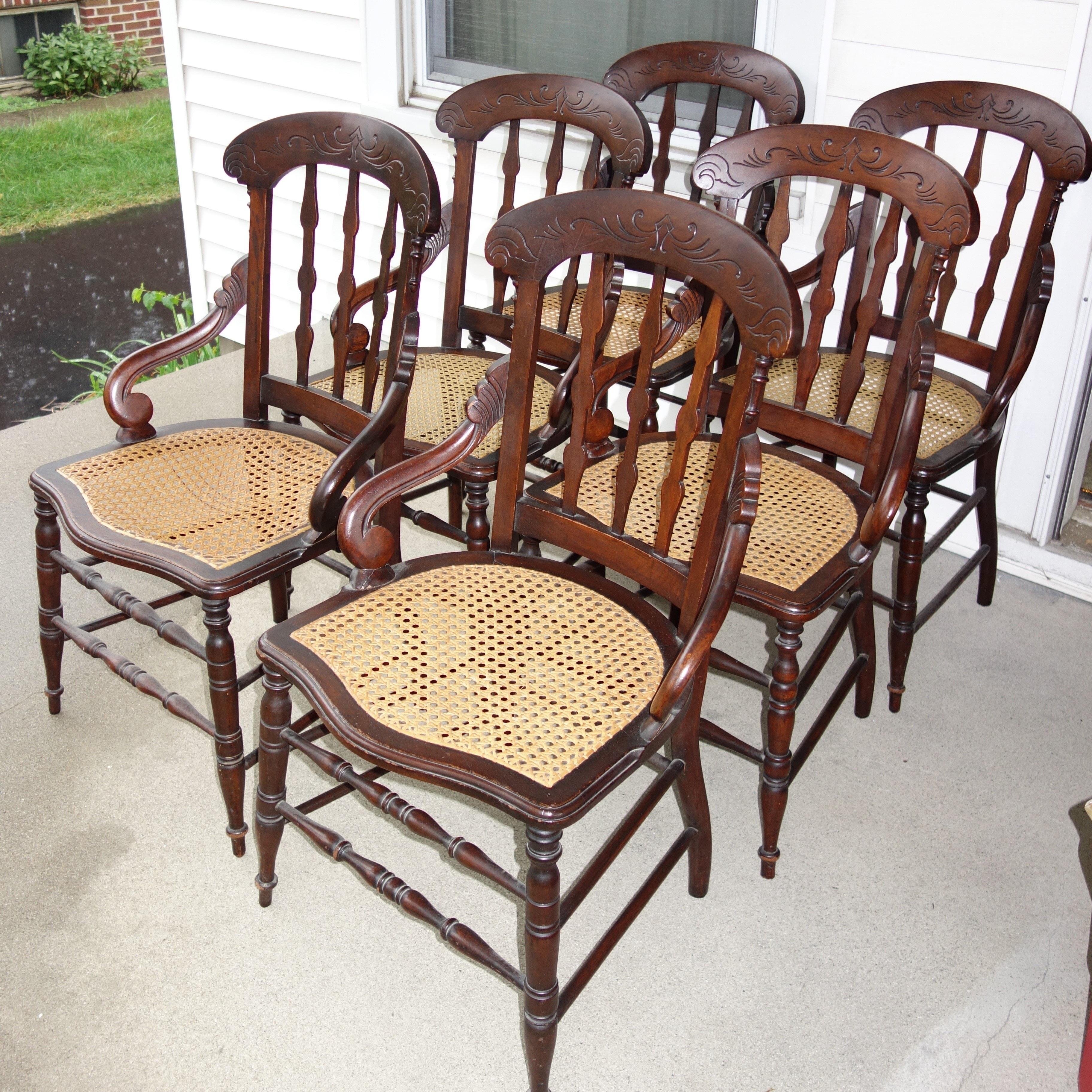Six Early Victorian Dining Chairs