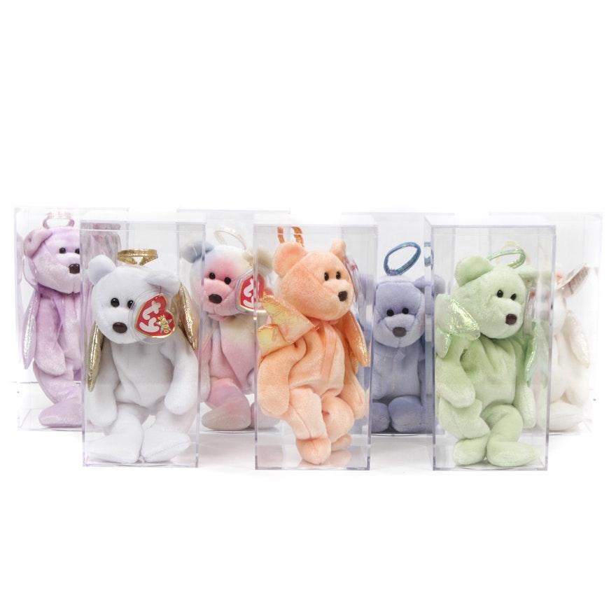 TY Beanie Babies Angel Bears   EBTH 3bee6db34d2