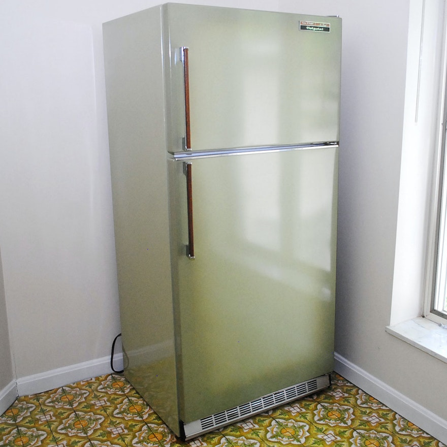 Vintage Hotpoint No Frost Refrigerator   EBTH