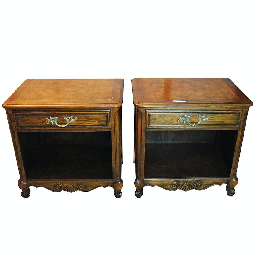 Vintage Nightstands by Baker Furniture ... - Vintage Nightstands By Baker Furniture : EBTH