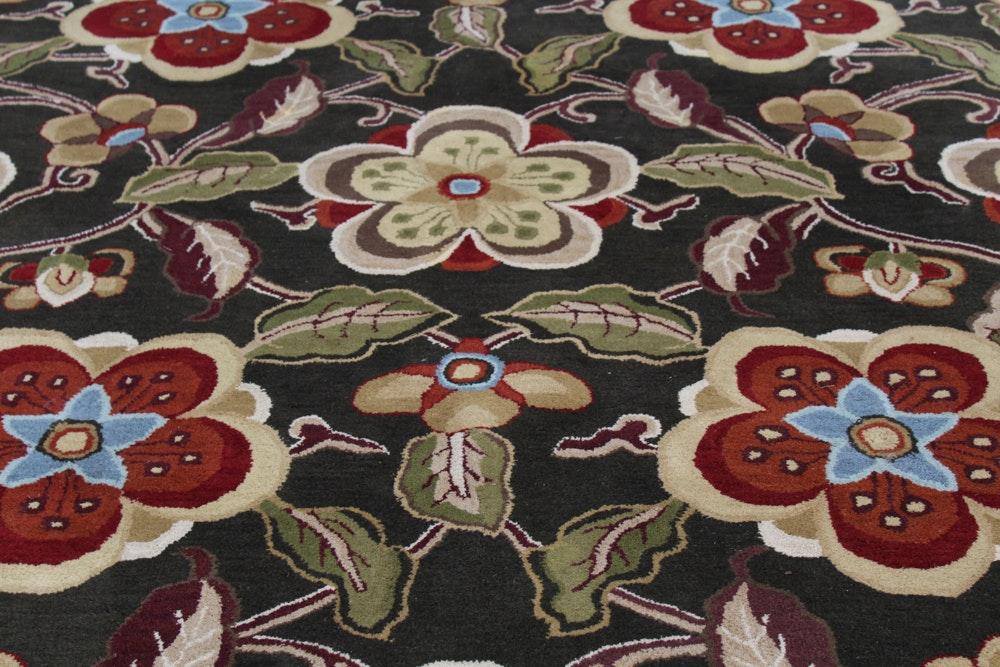 "Surya Room Size Hand-Tufted ""Aurora"" Wool Rug"