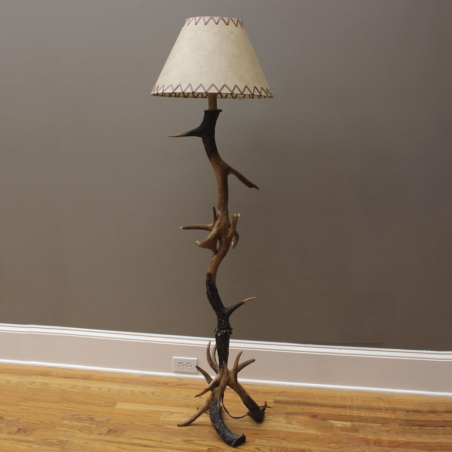 Faux Antler Floor Lamp : EBTH