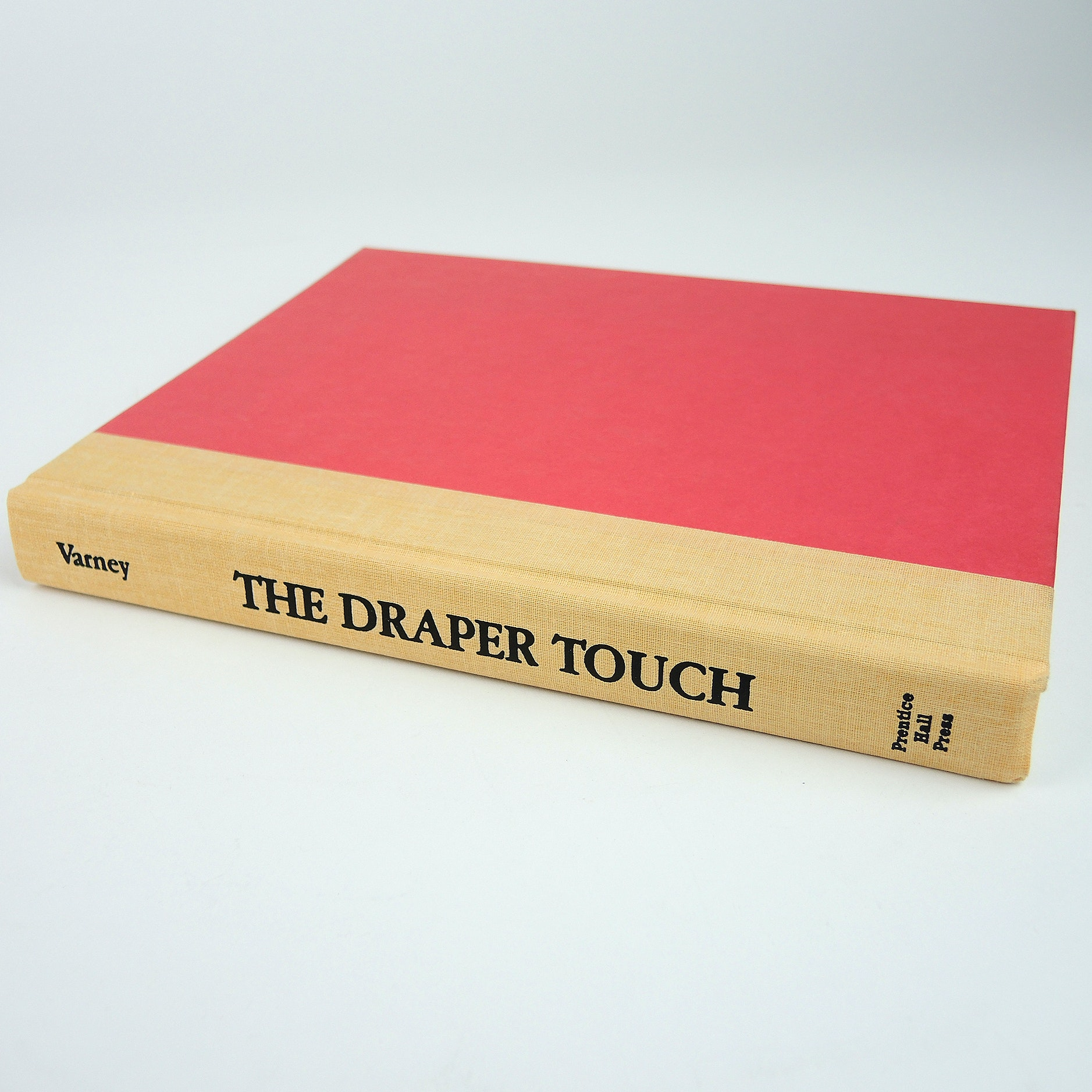 "Signed Copy of ""The Draper Touch"" by Carlton Varney"