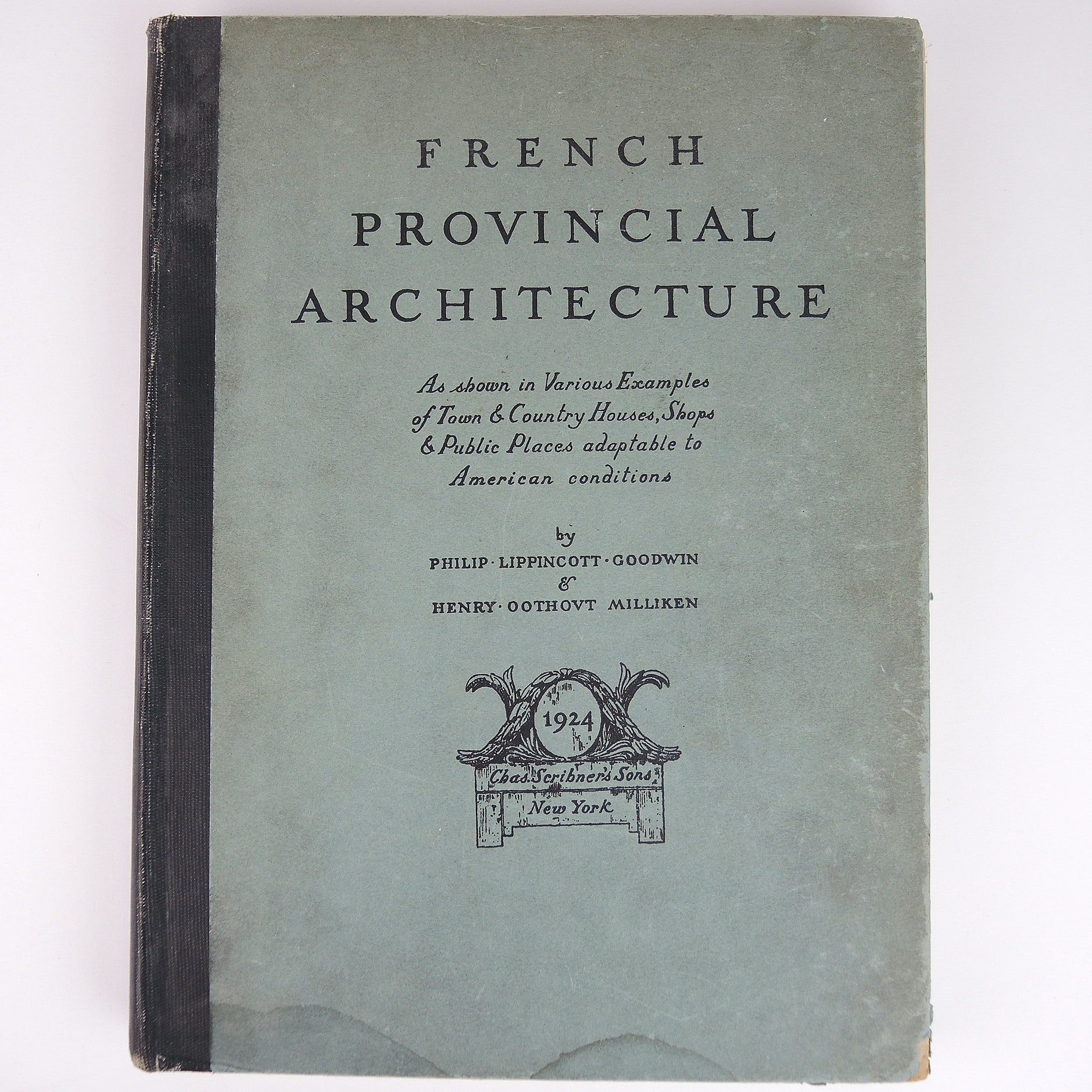 """Vintage Copy of """"French Provencial Architecture"""""""