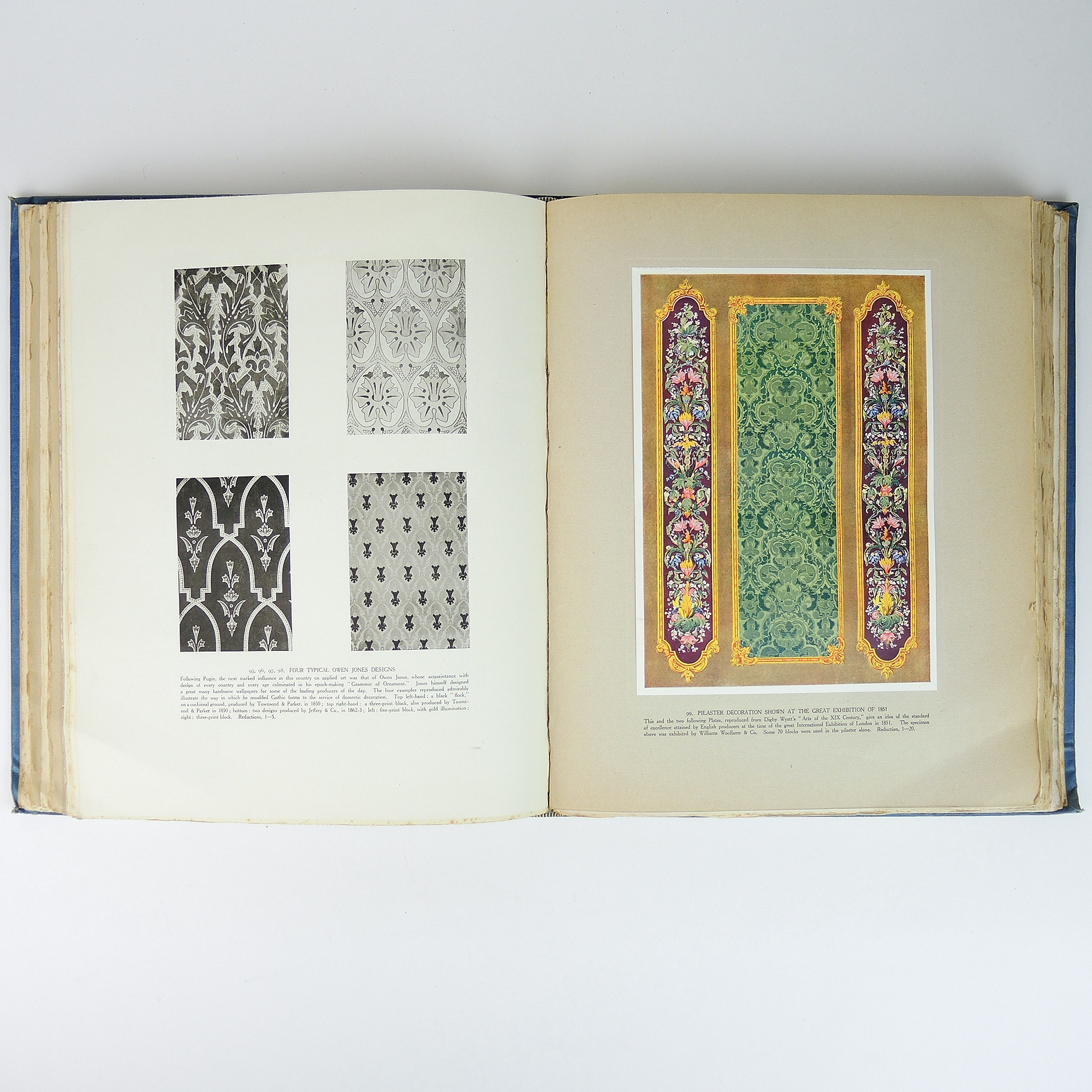 """Vintage Copy of """"A History of English Wallpaper"""" with Illustrations"""