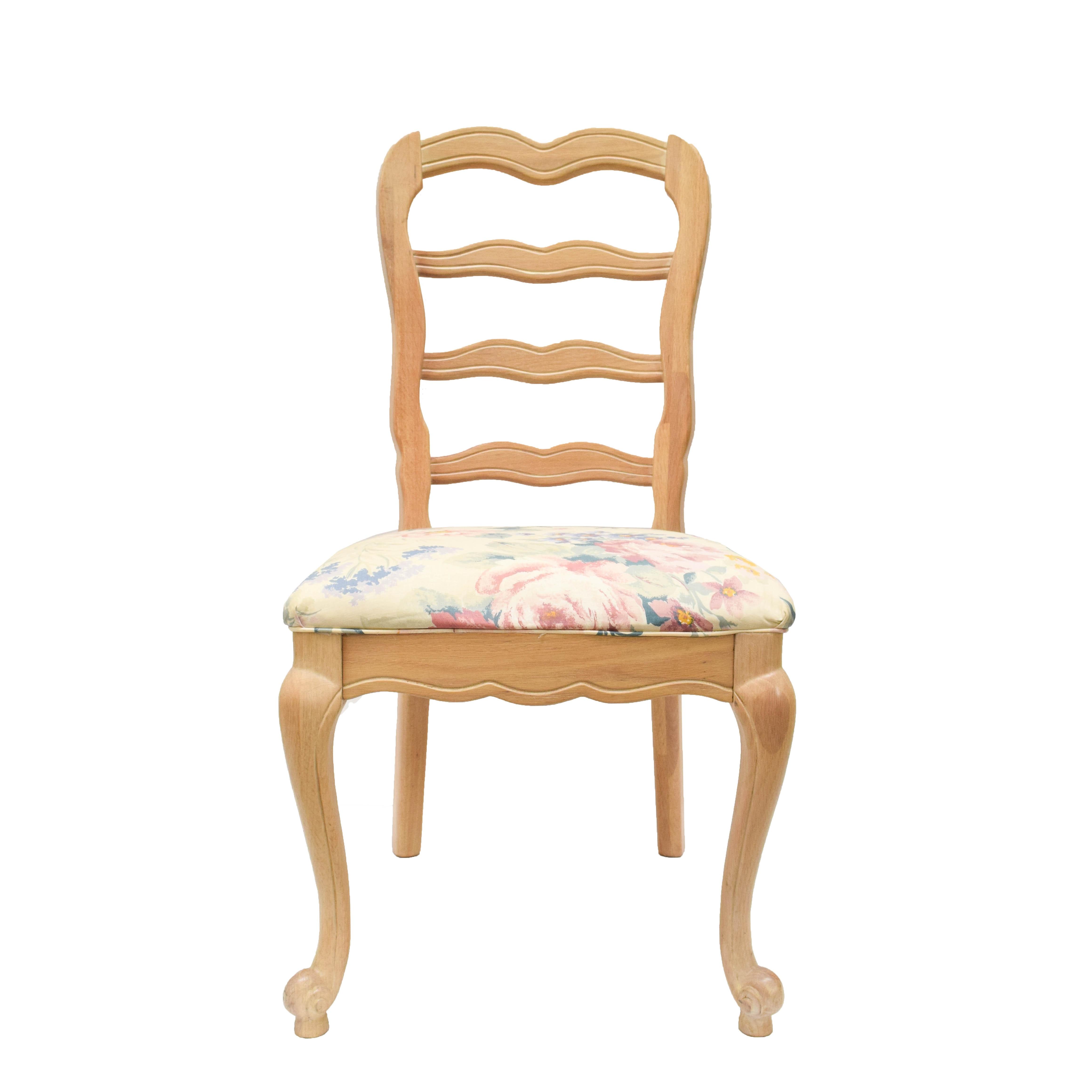 Louis XV Style Ladderback Chair
