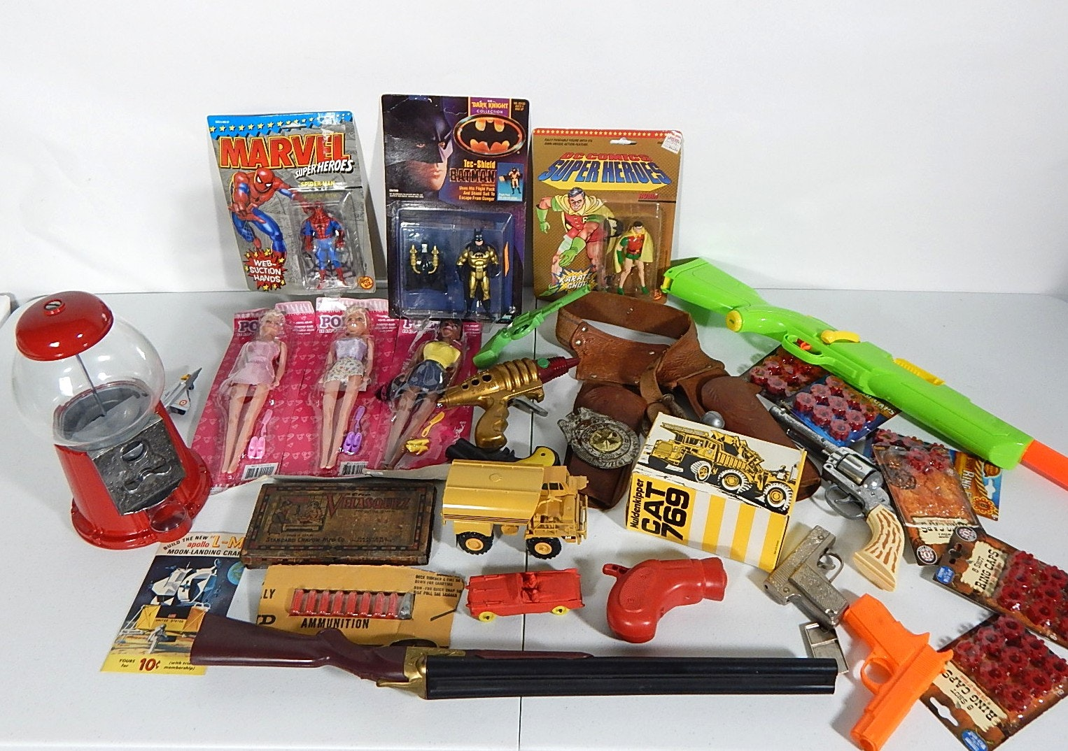 Assorted Toy Lot with Action Figures and More