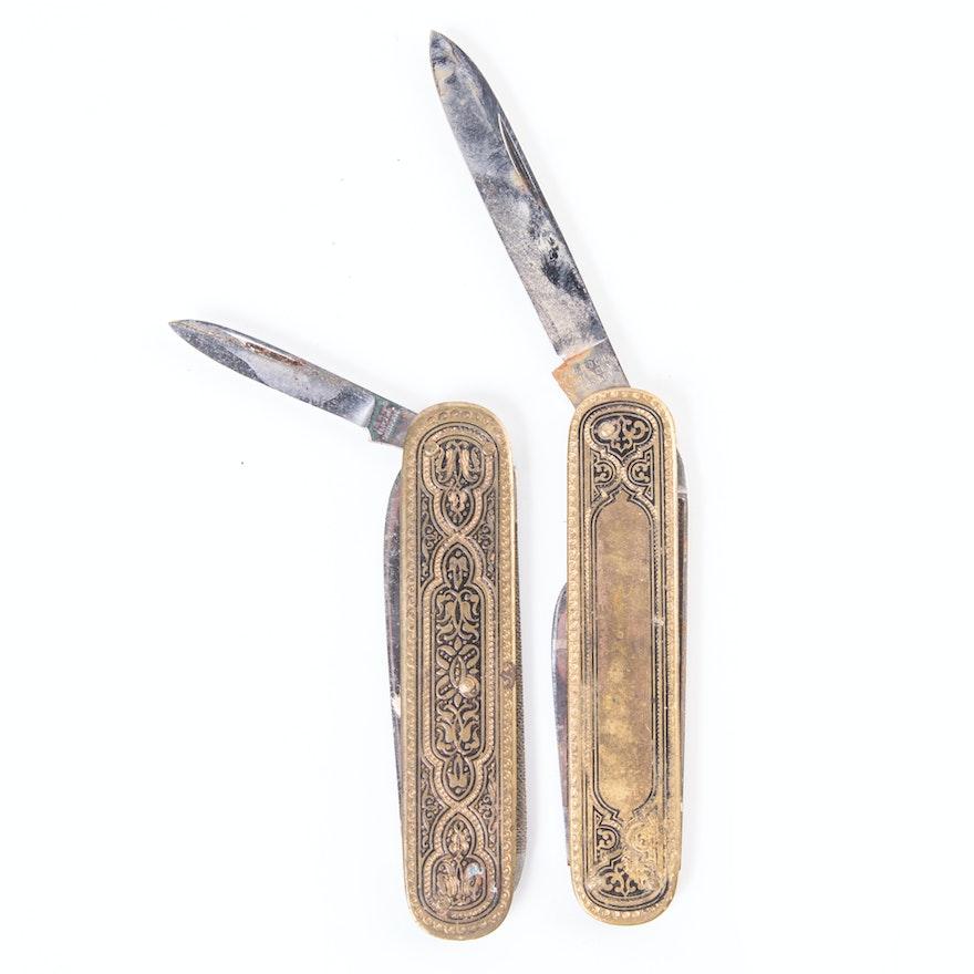 Vintage German Solingen Pocket Knives