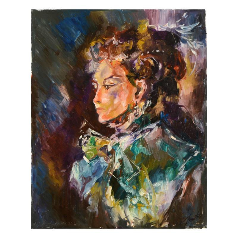 """Colors"" Original Oil Painting"