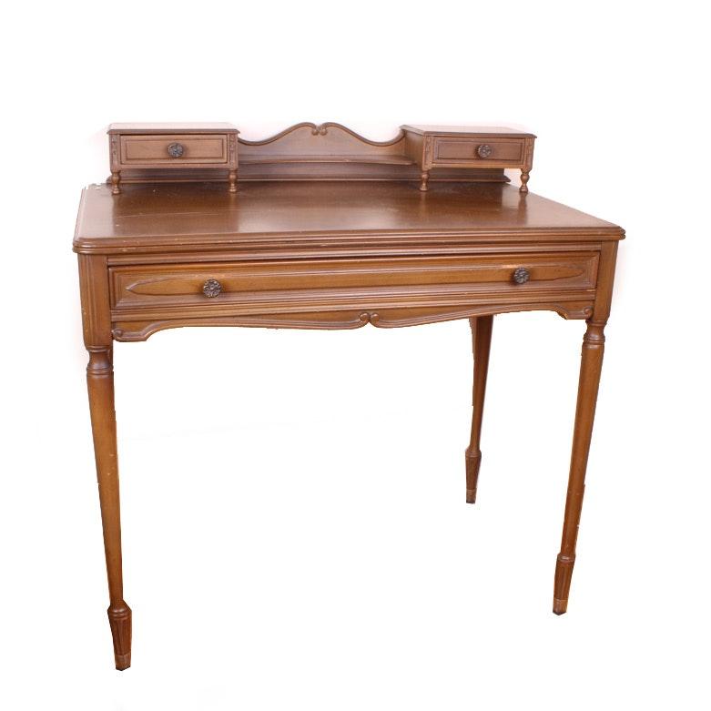 Walnut Writing Desk By Sligh