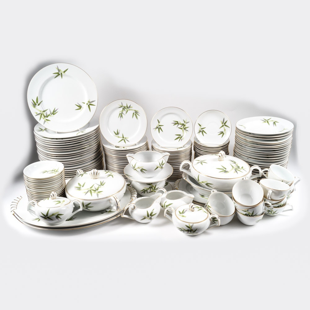 Large Set of Japanese Narumi China Dinnerware ... & Large Set of Japanese Narumi China Dinnerware : EBTH