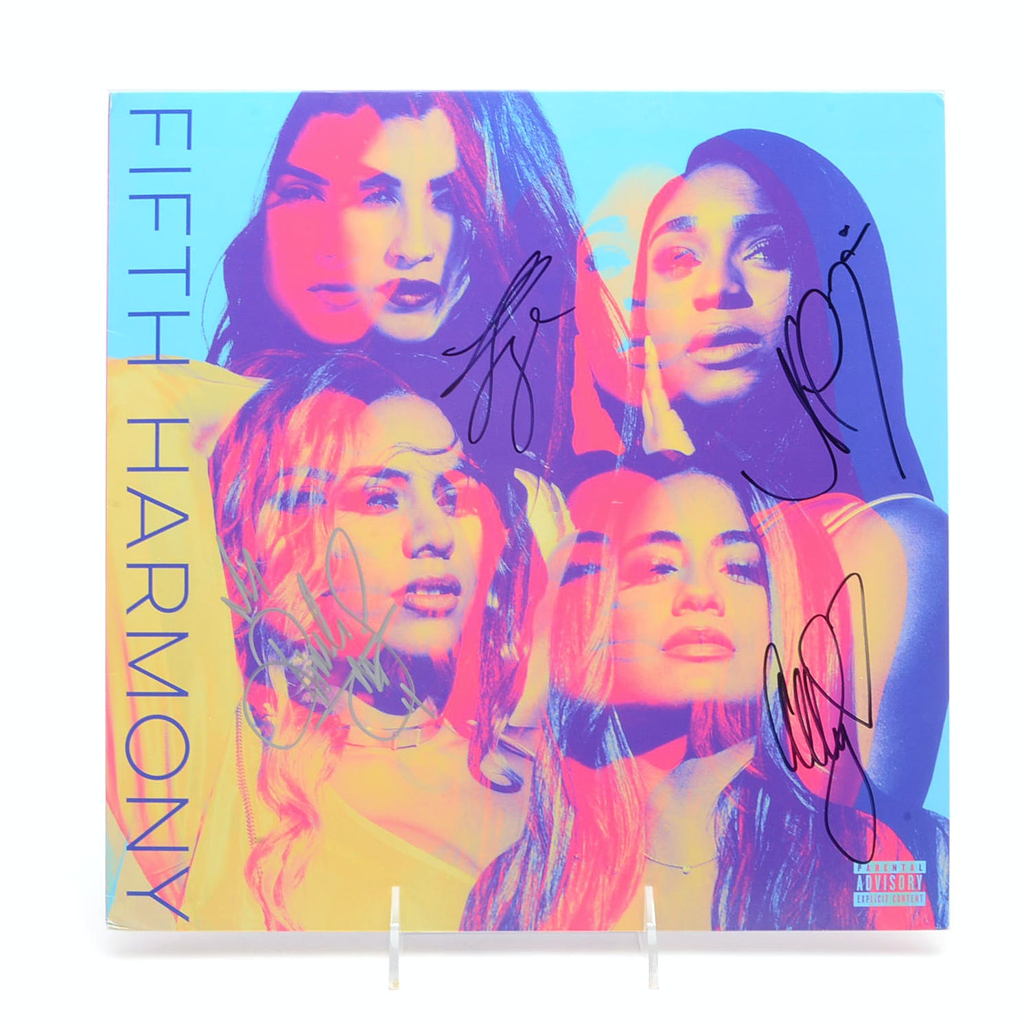 Fifth Harmony Signed Album Cover