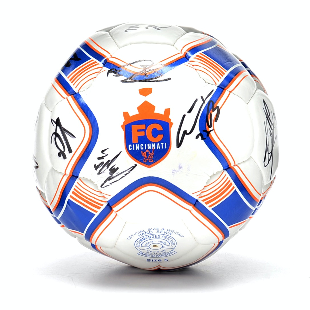 FC Cincinnati Signed Soccer Ball