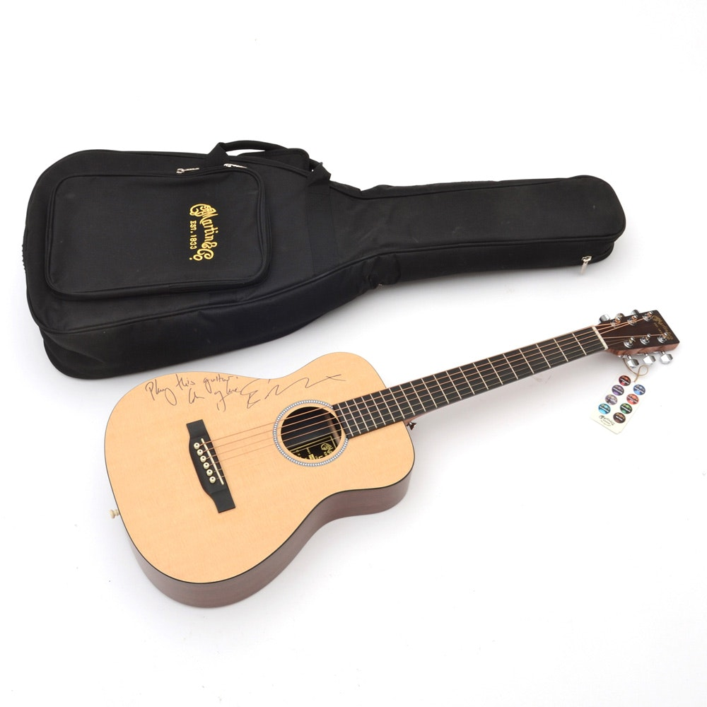 Ed Sheeran Signed Martin Acoustic Guitar
