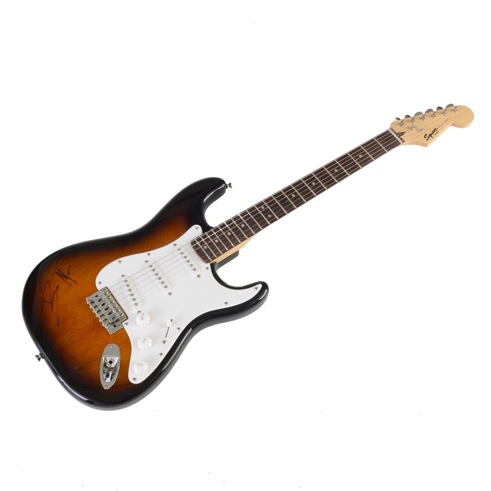 Bruno Mars Signed Guitar  COA