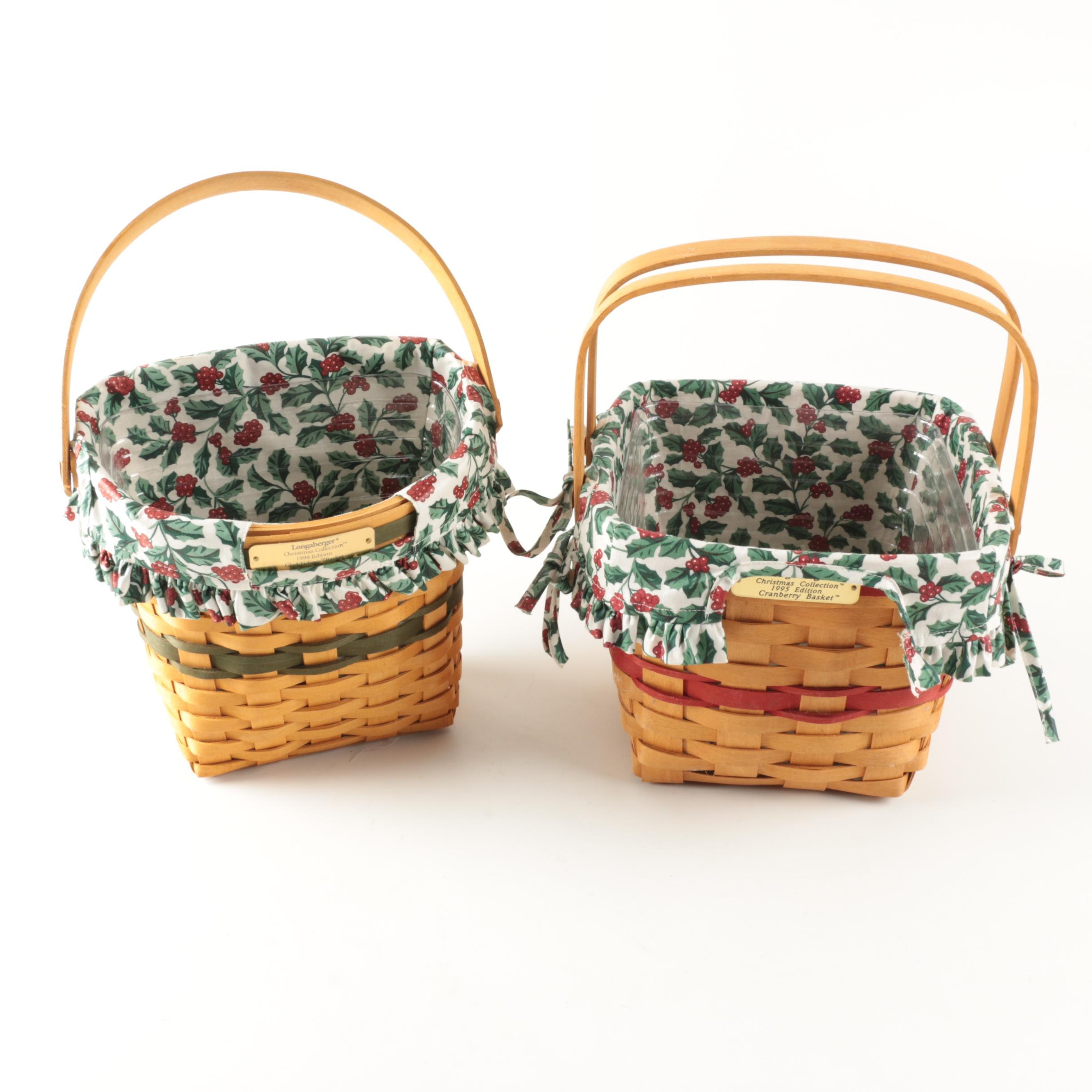 Longaberger Holiday Baskets