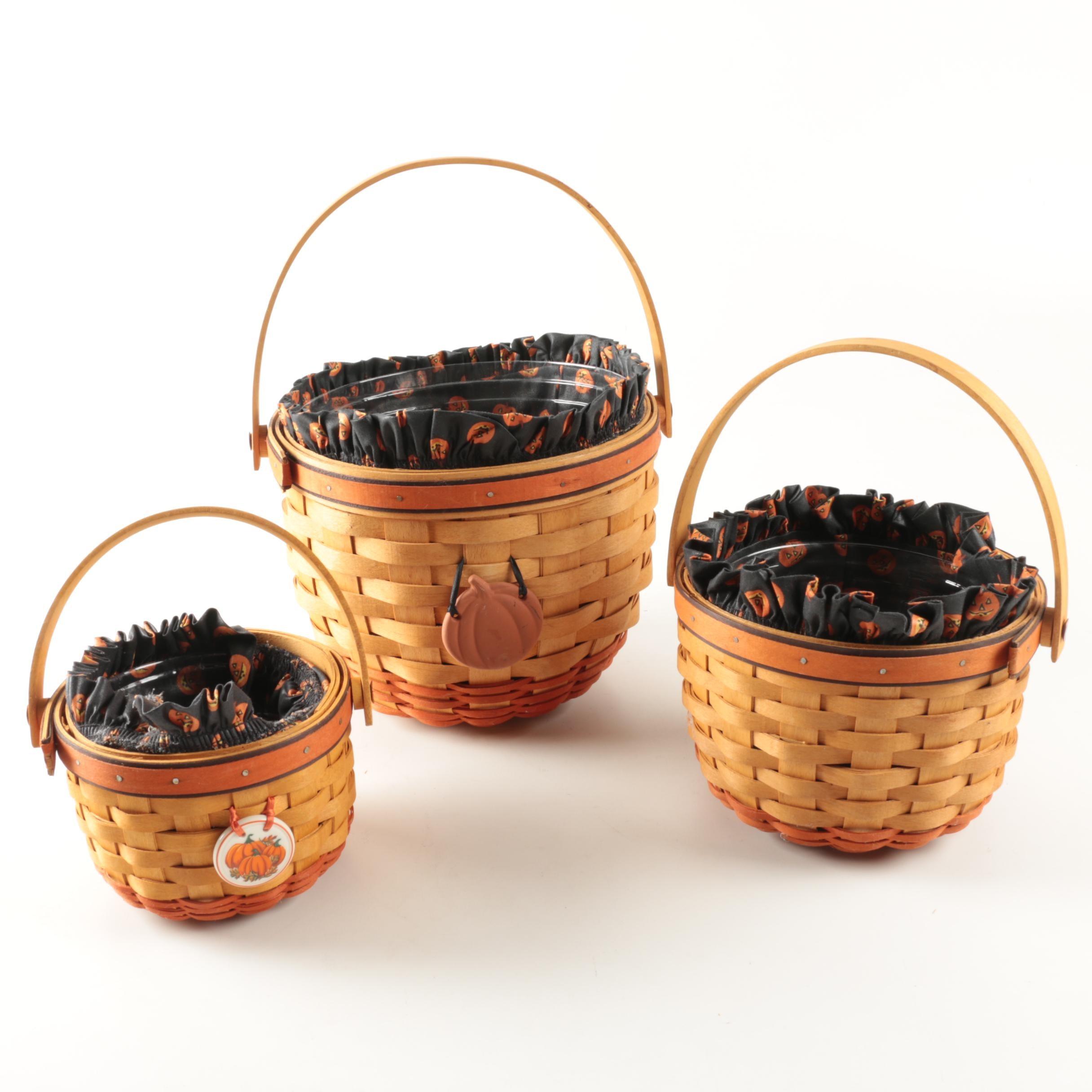 Longaberger Halloween Baskets