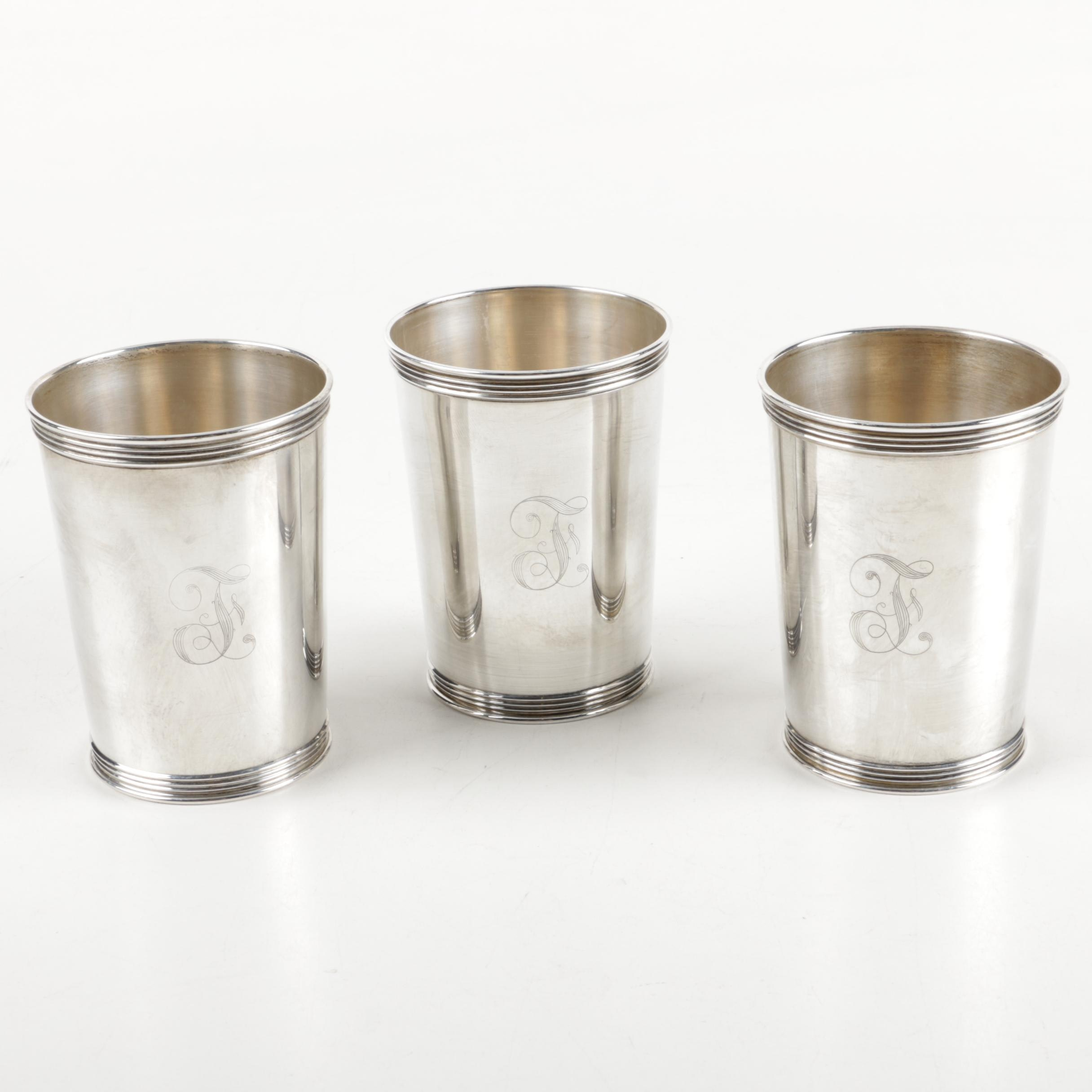 Sterling Silver Julep Cups
