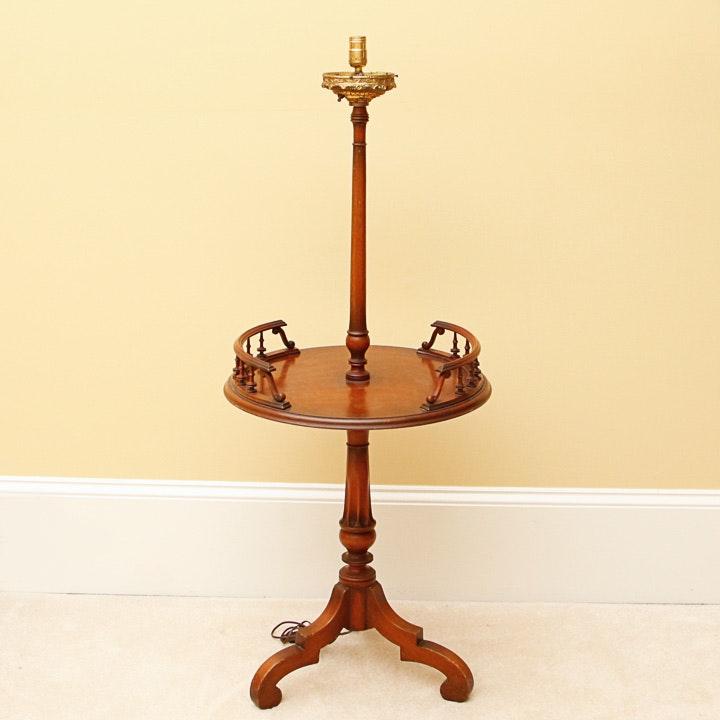 Vintage Cherry Lamp Table