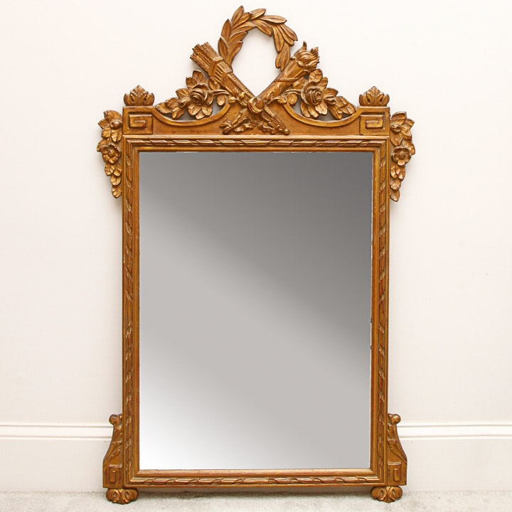 French Directoire Style Wall Mirror