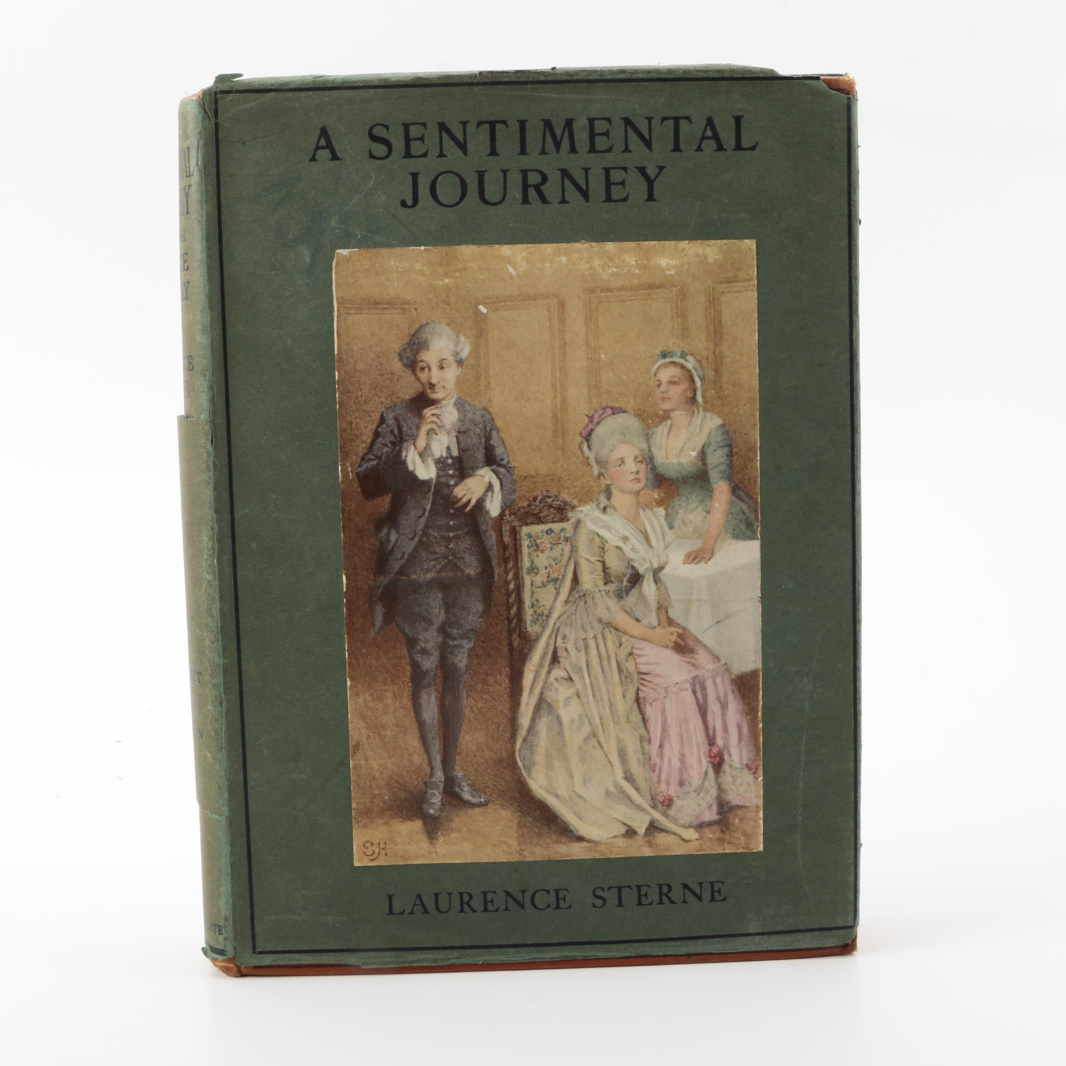 "1913 ""A Sentimental Journey in France & Italy"" by Laurence Sterne"