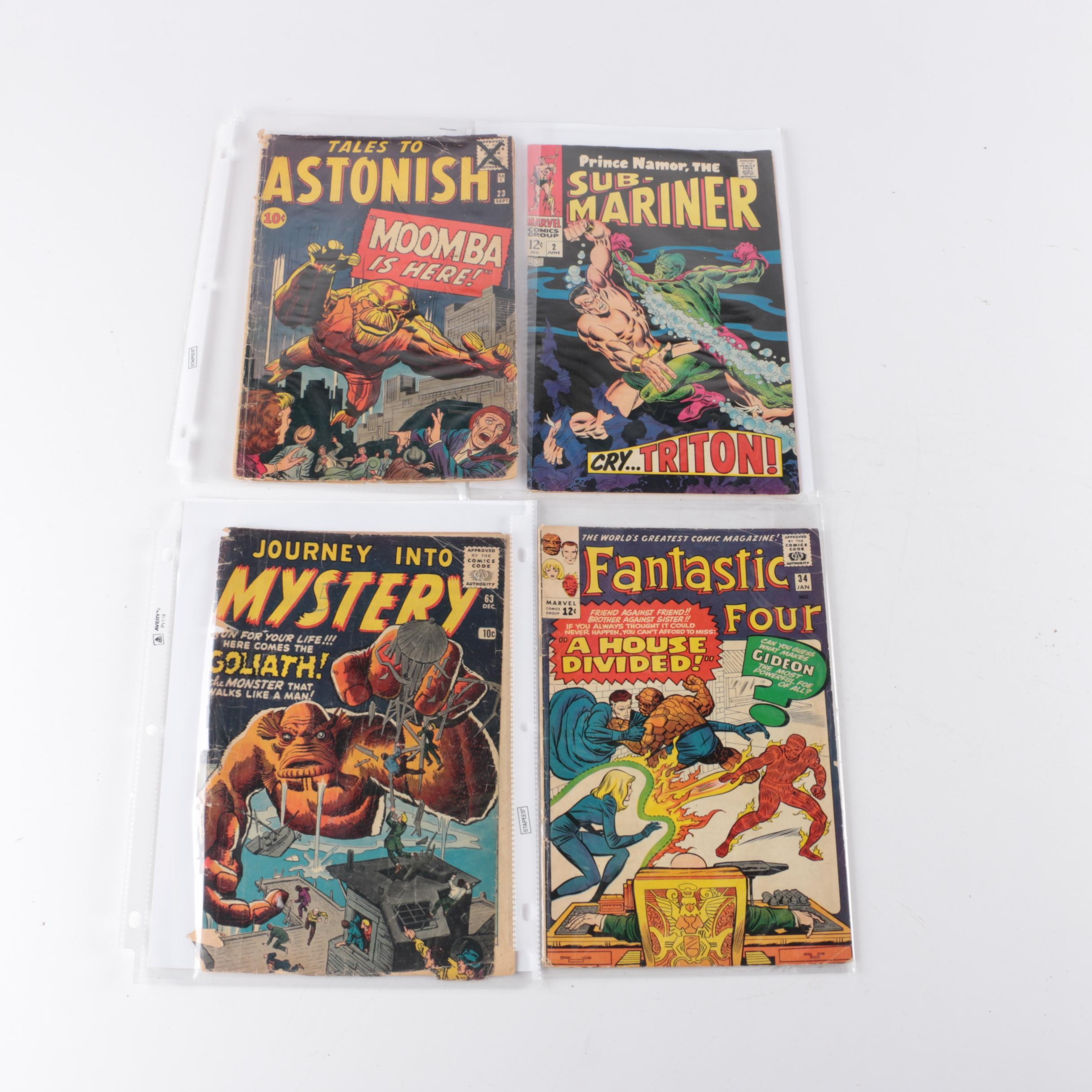 Silver Age Marvel Comic Books