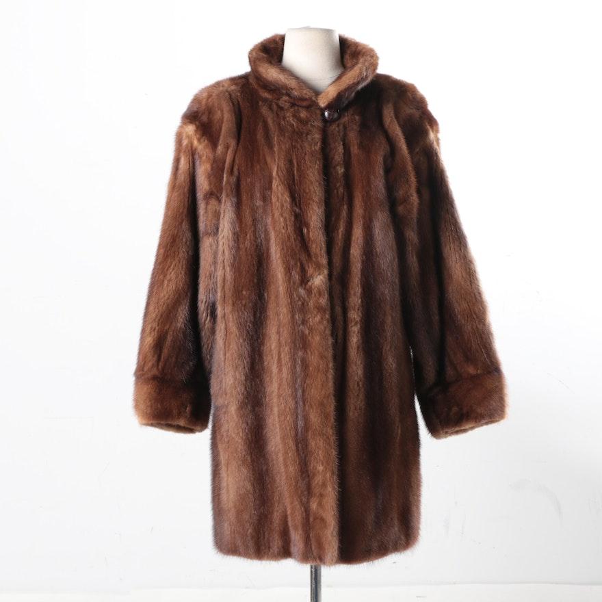 3a1c2b128f6 Vintage Yves Saint Laurent Saga Mink Fur Coat : EBTH