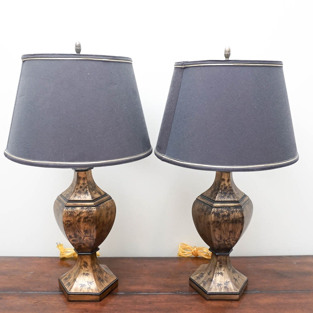 Mohr & McPherson Urn Table Lamps