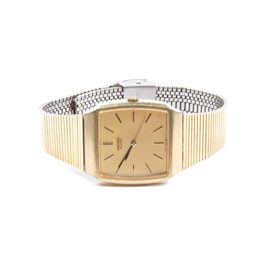Gold Toned Seiko Wristwatch