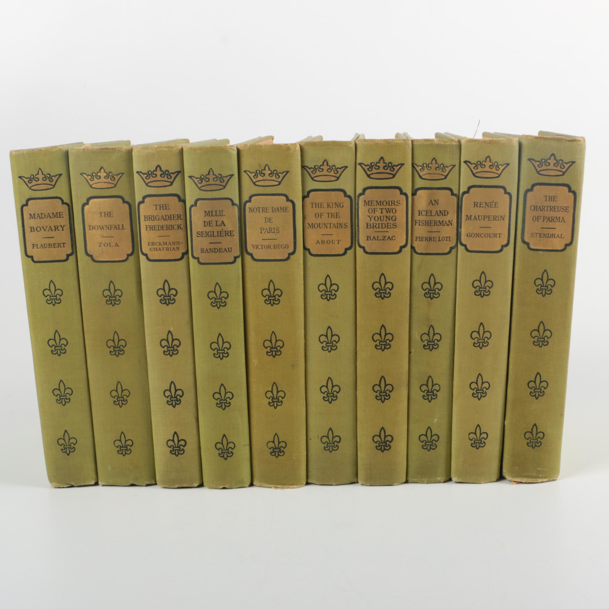 "1902 Ten-Volume Collection of ""The French Classical Romances"""