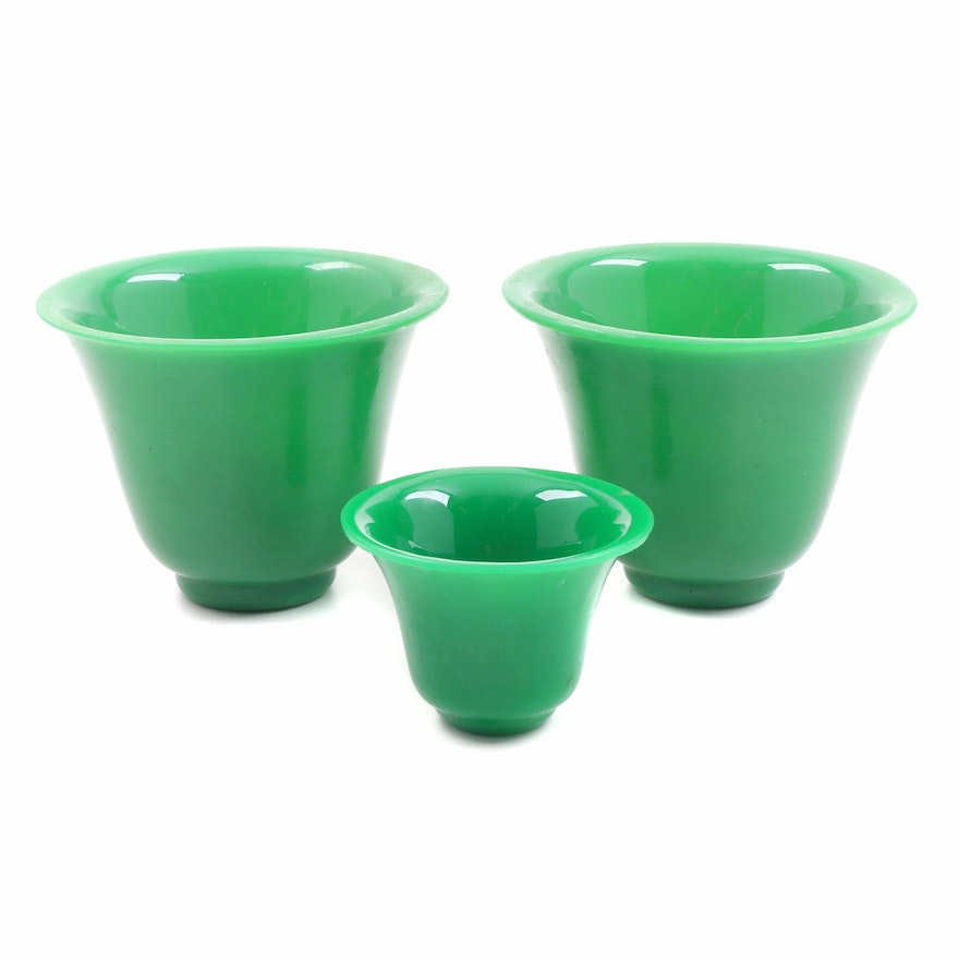 Th Century Green Glass Cup