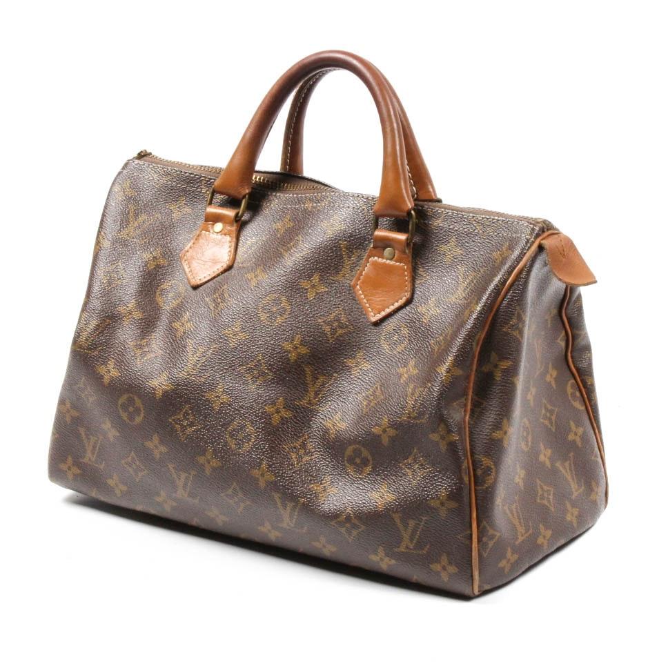 Vintage Louis Vuitton French Company Satchel