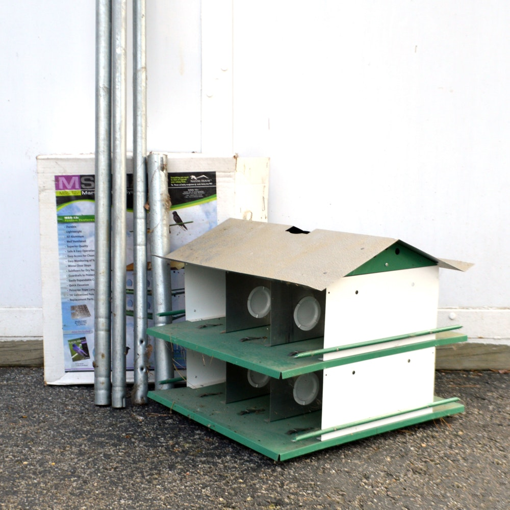 Martin Safety System Bird House