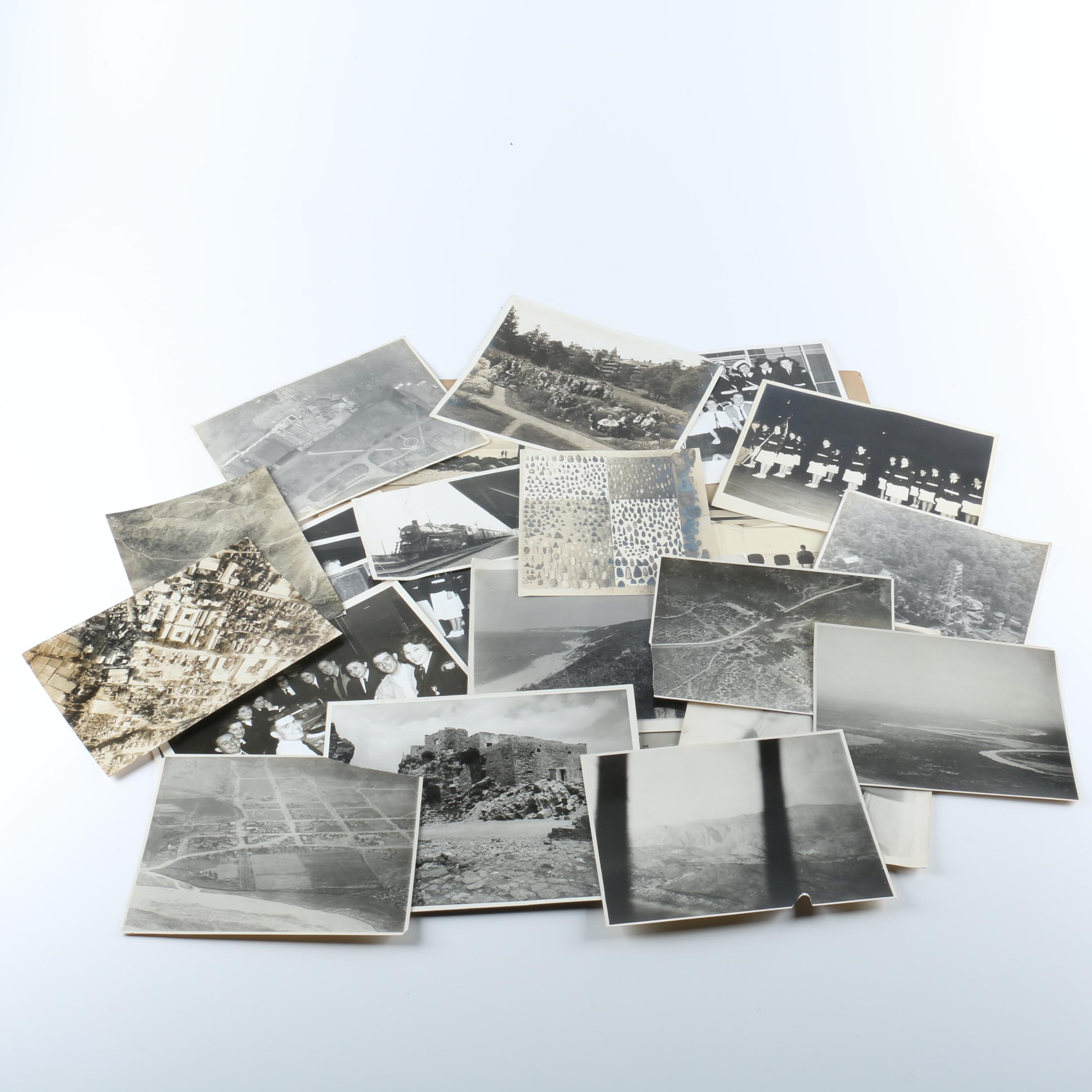 Collection of Vintage Black and White Photographs