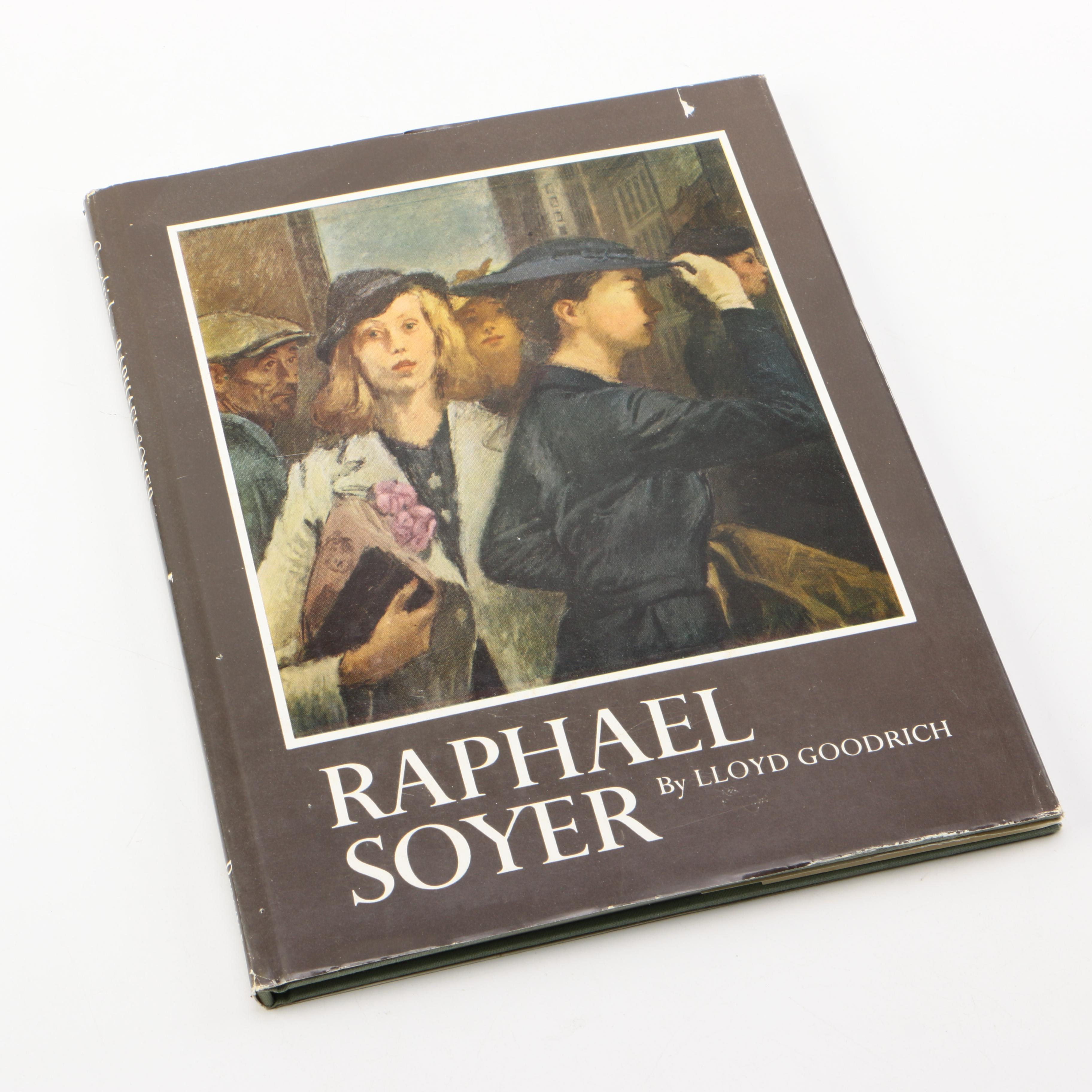 "1967 Signed ""Raphael Soyer"" by Lloyd Goodrich"