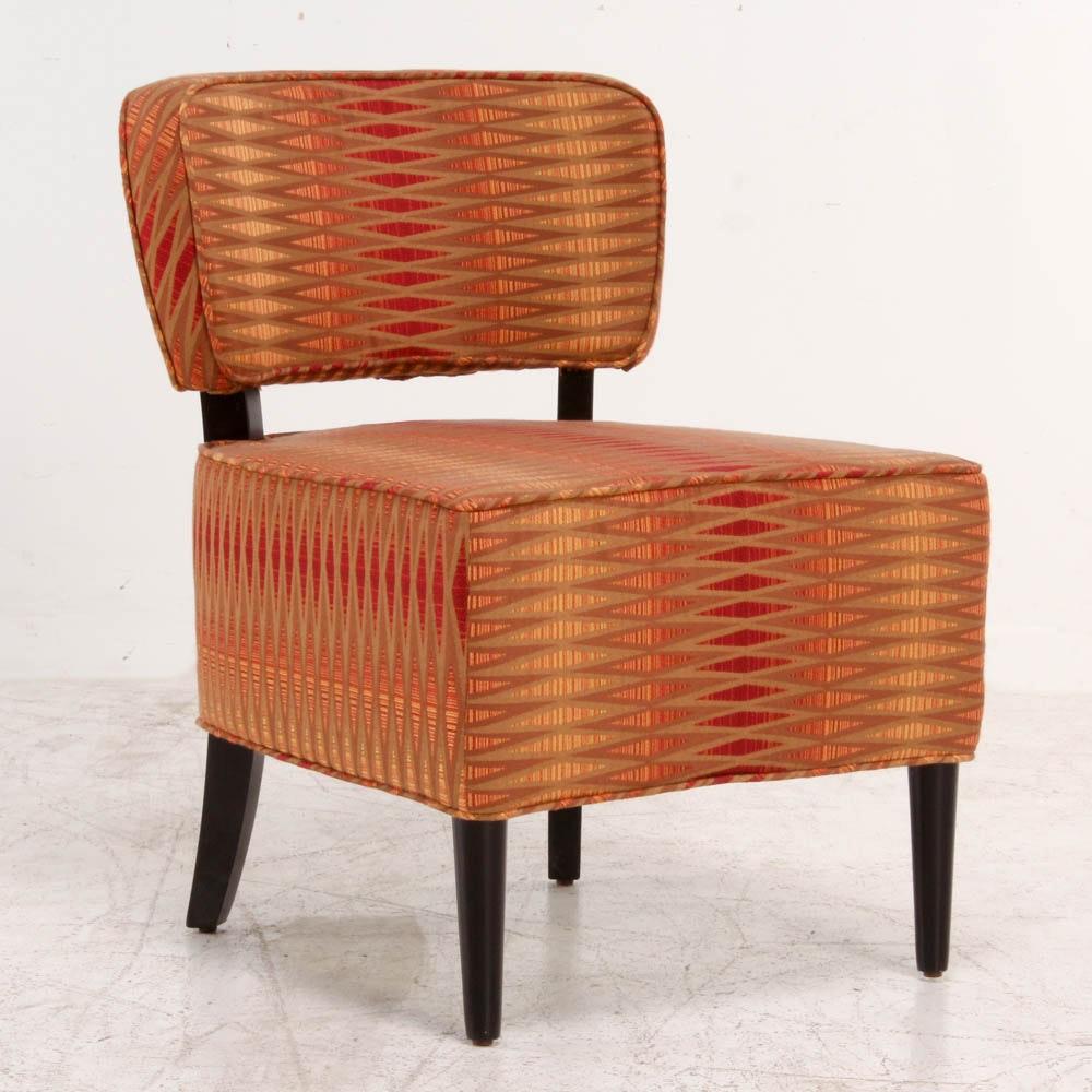 Fire Tones Slipper Chair
