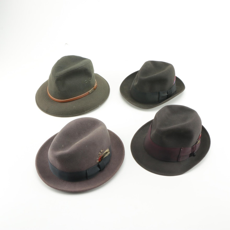 34e354e8023aa Men s Vintage Wool Fedora Collection   EBTH