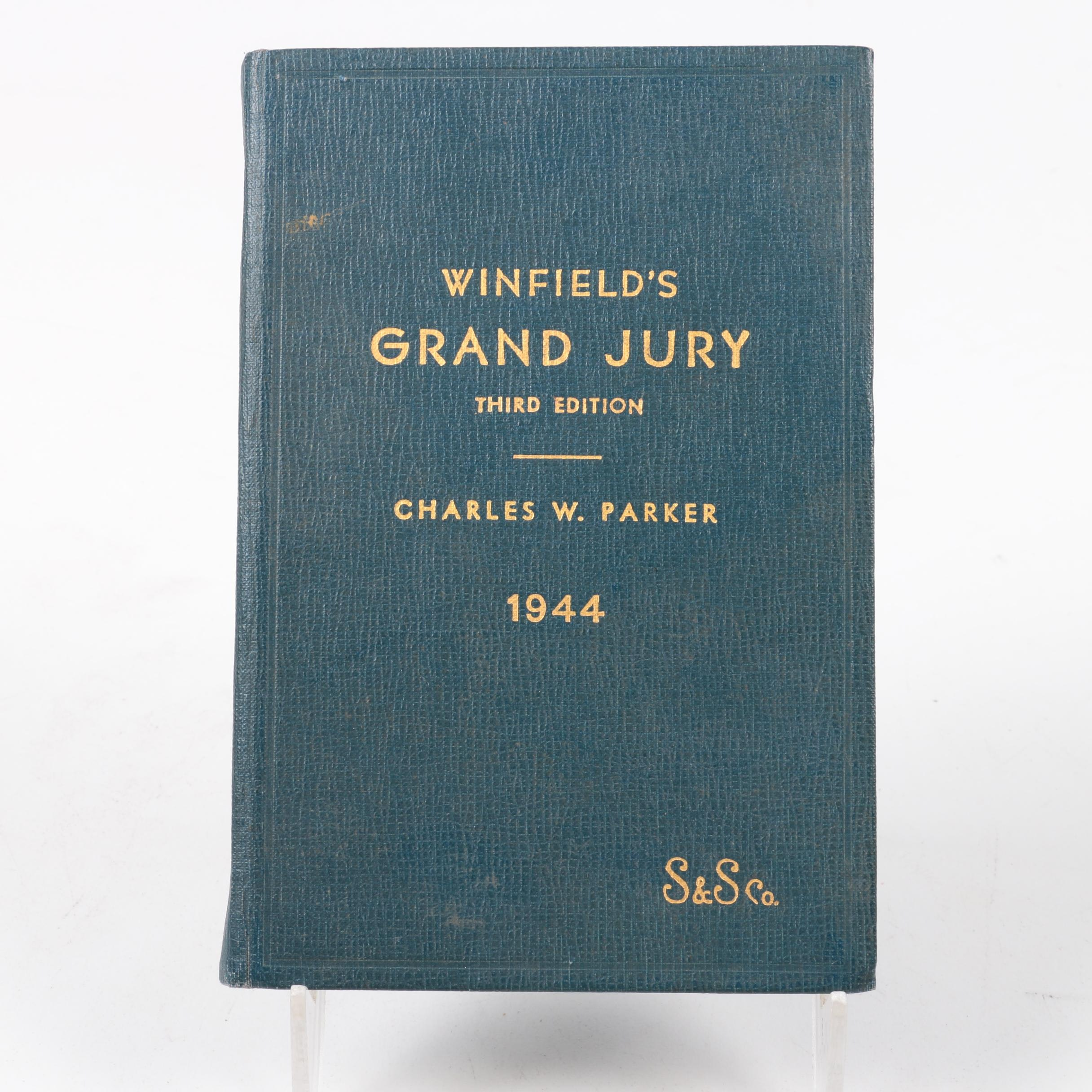 "1944 ""The Grand Jury"" by Charles H. Winfield"