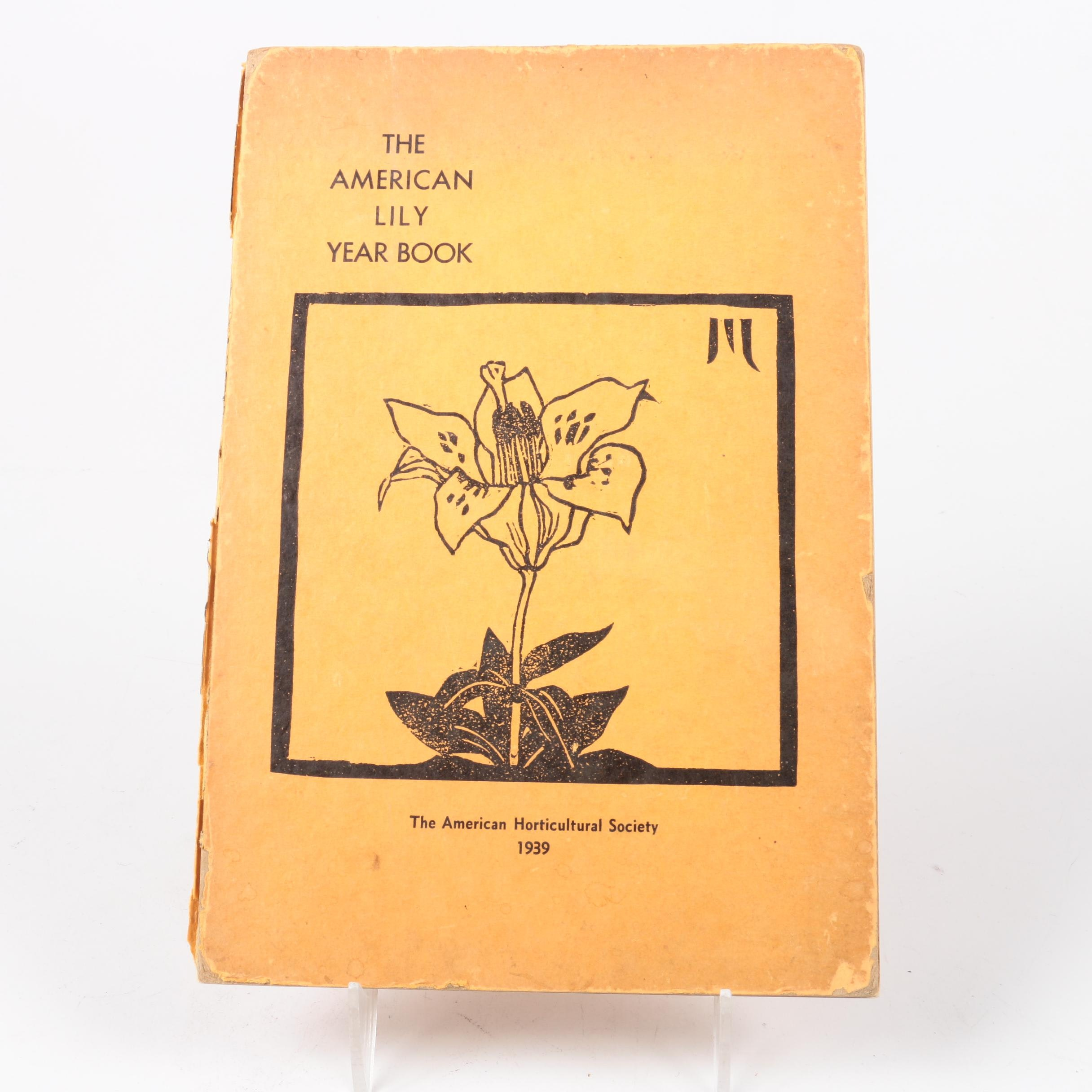 "1939 ""The American Lily Year Book"""