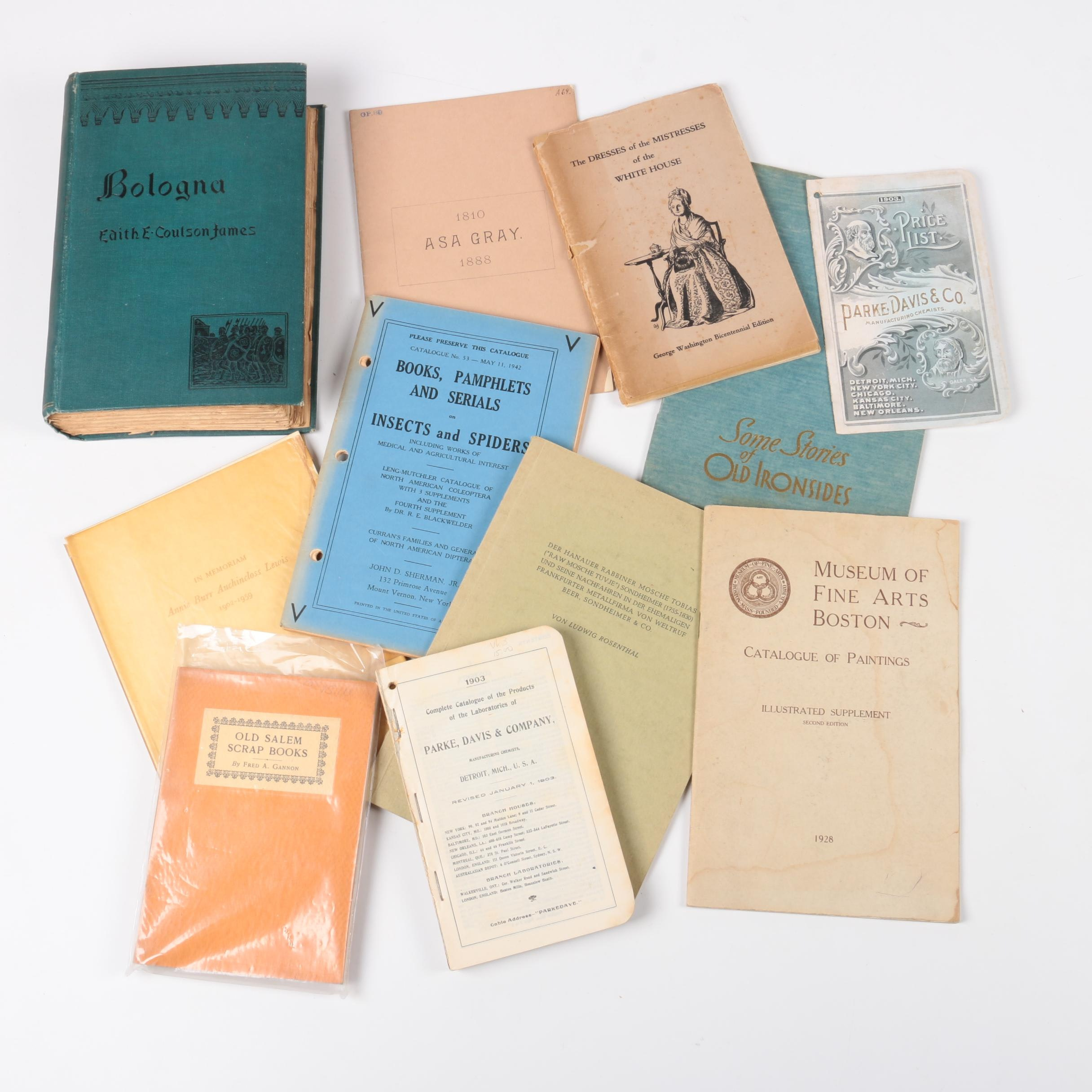 Collection of Vintage Books and Booklets