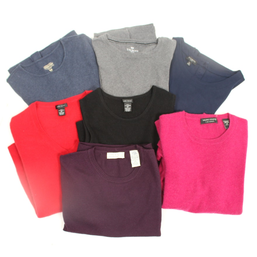 f50ac4f13bf77c Cashmere Sweaters and Tops Including Lord   Taylor   EBTH