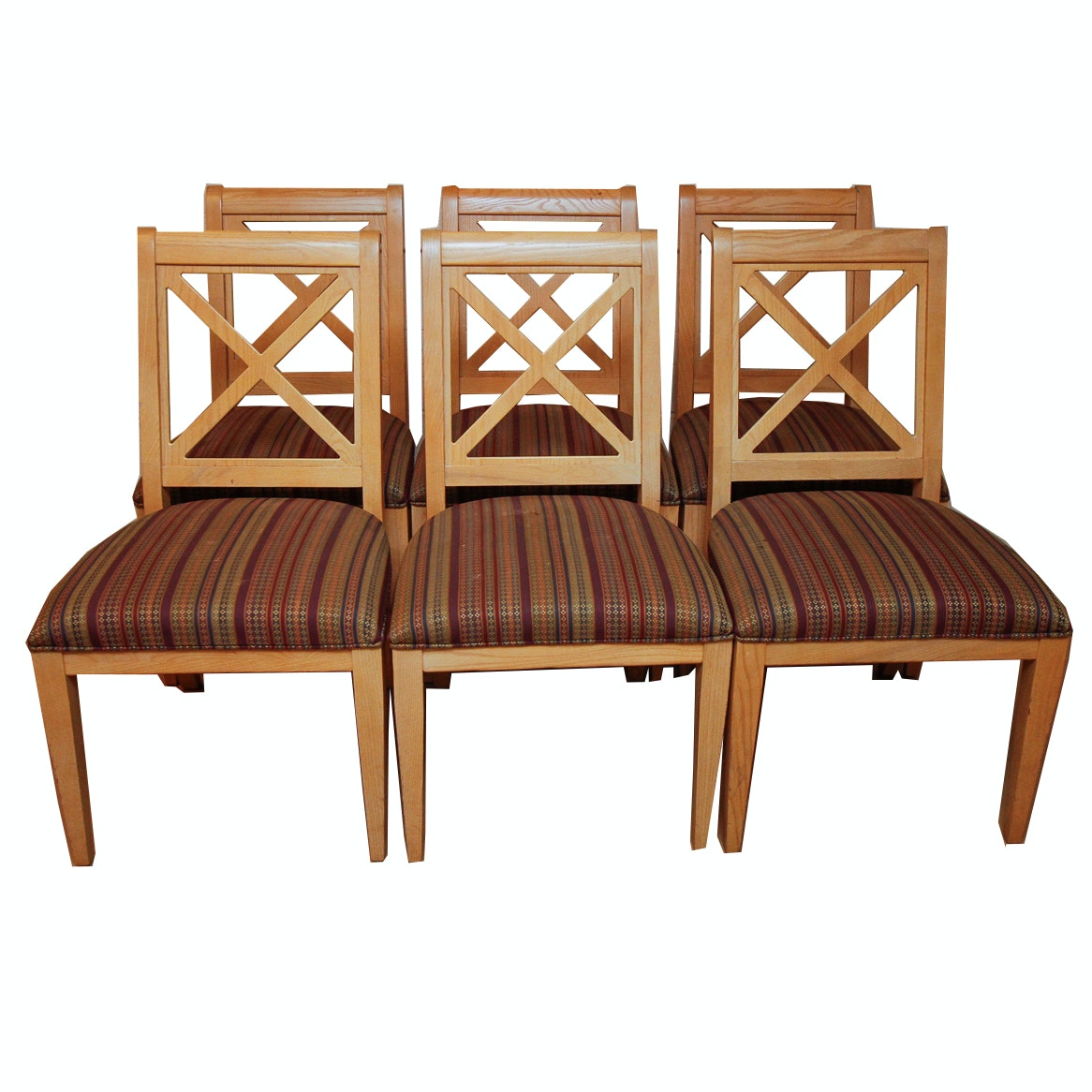 Set of Six Contemporary Dining Chairs