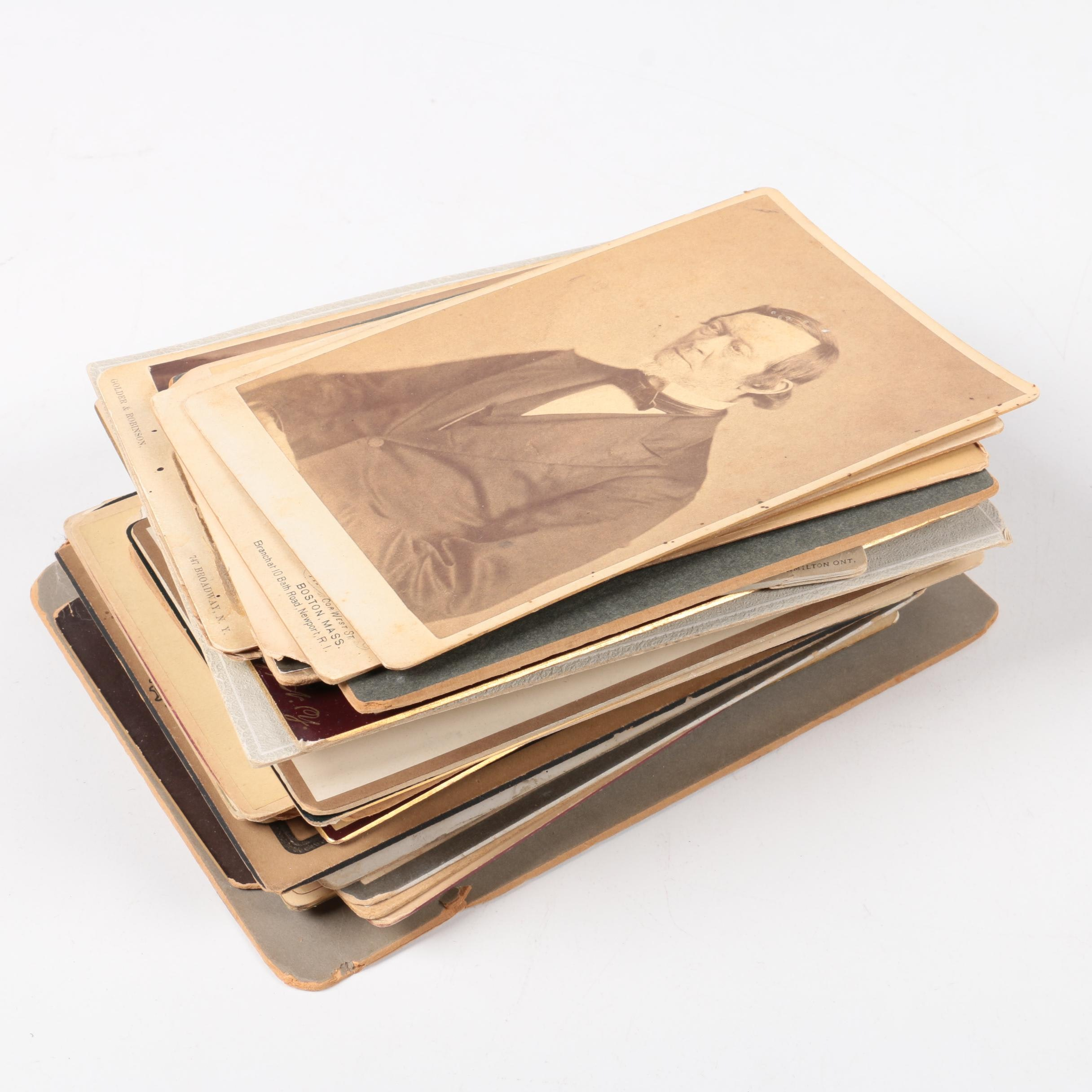 Collection of Cabinet Cards