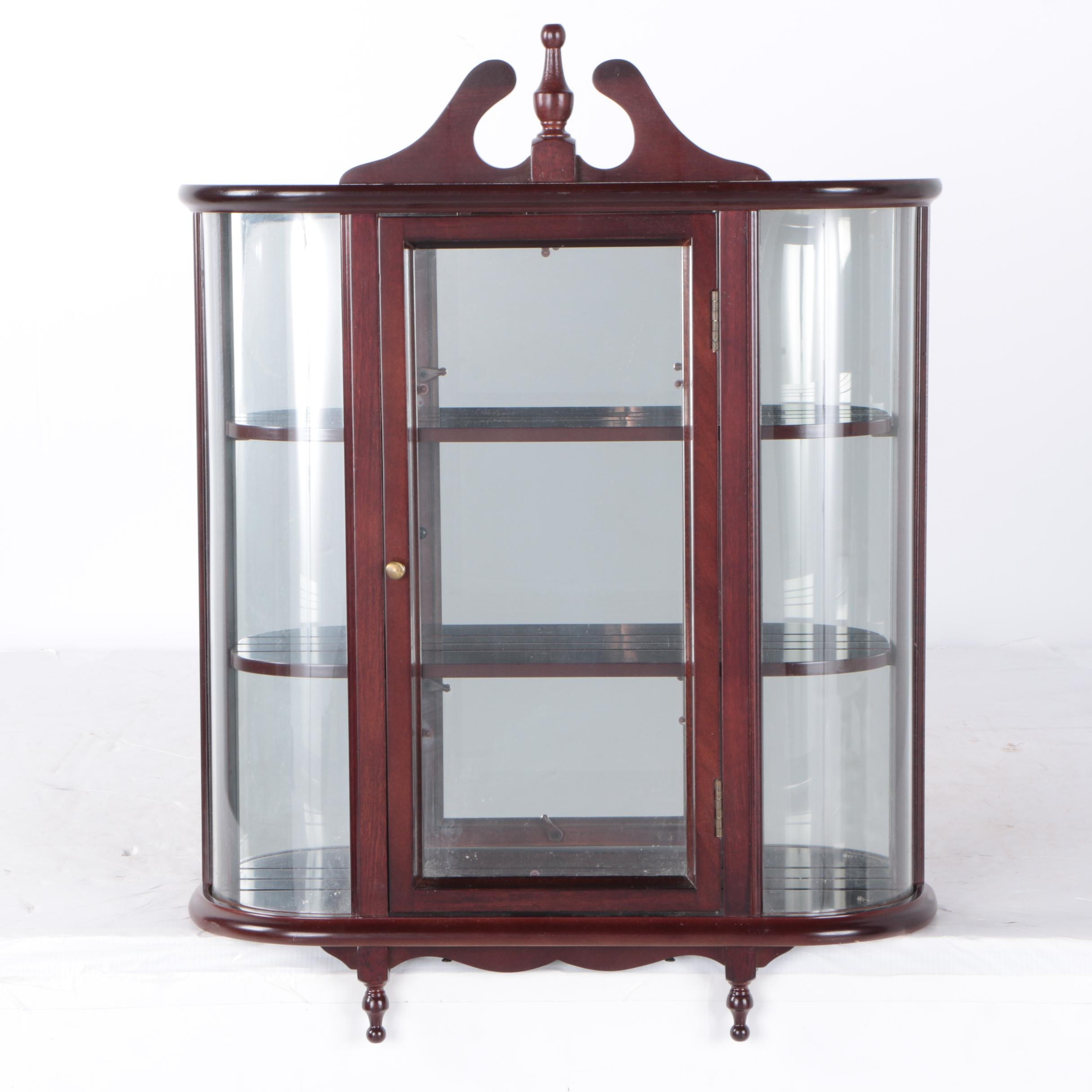 Hanging Curio Cabinet By The Bombay Company ...