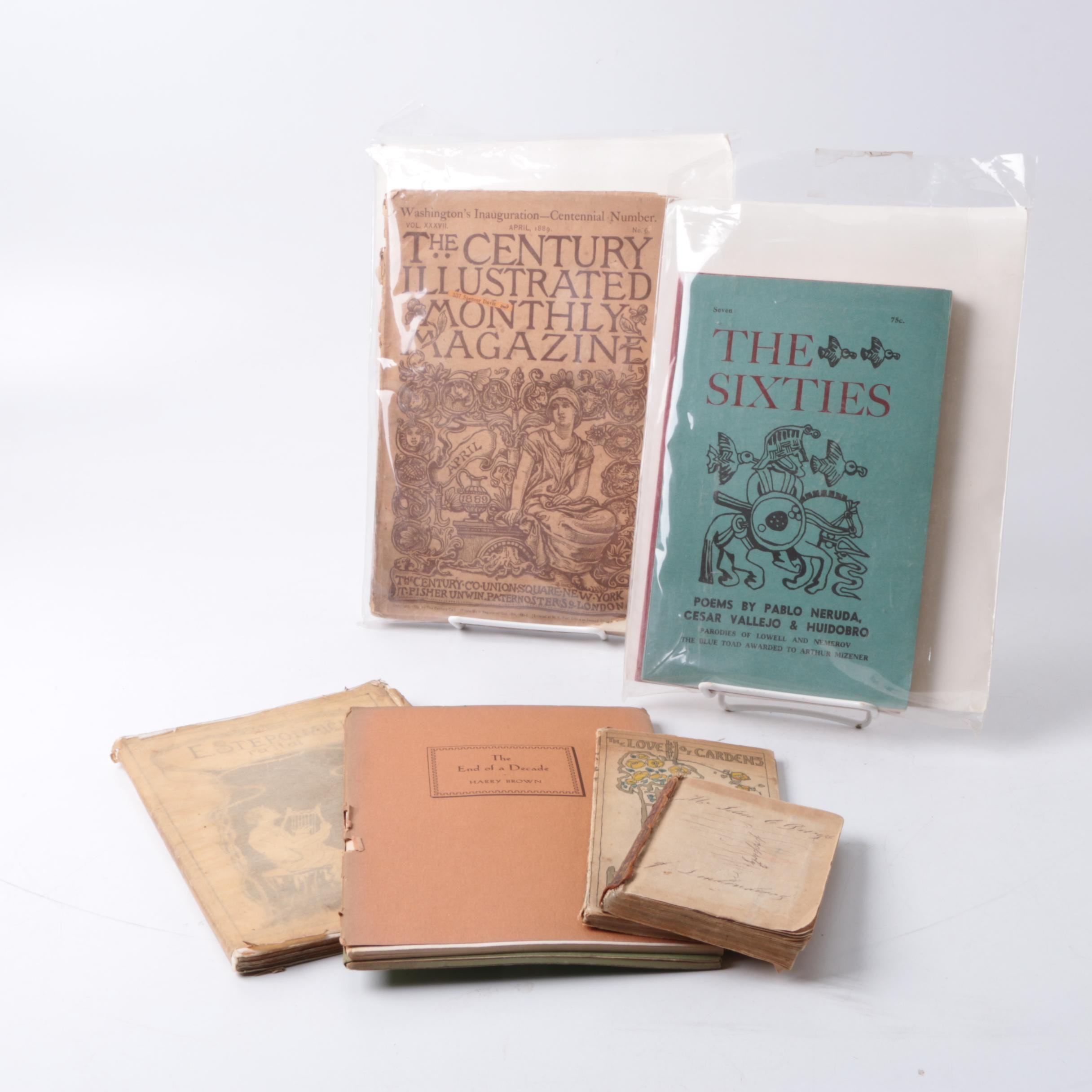Assorted Poetry Books