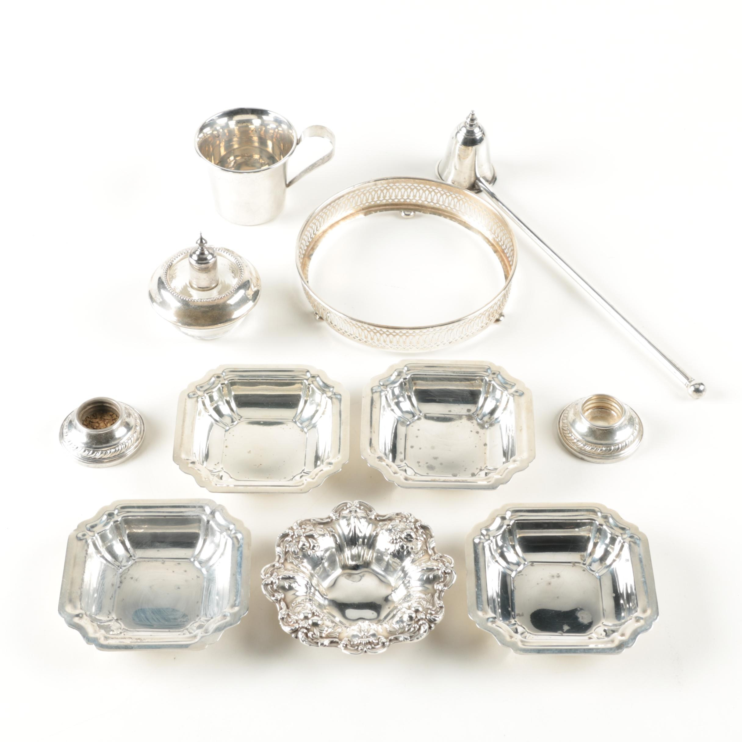Assortment of Sterling Silver Tableware Featuring Reed & Barton